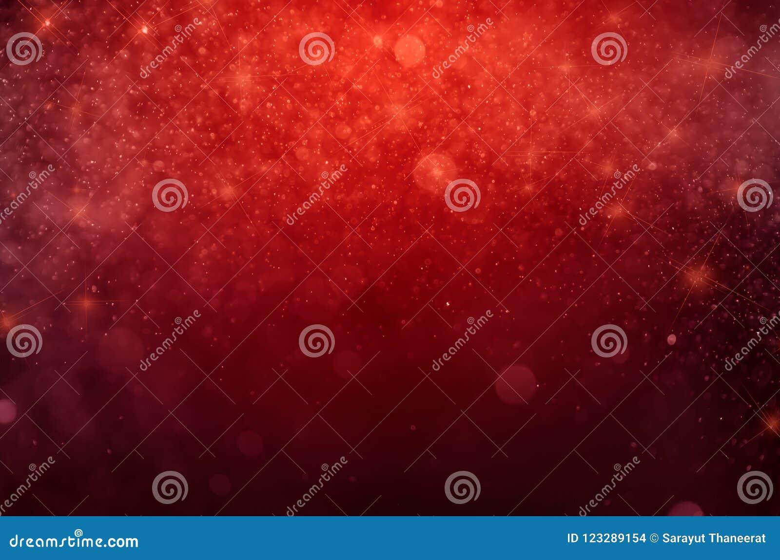 Fond rouge d abrégé sur bokeh Bokeh bleu