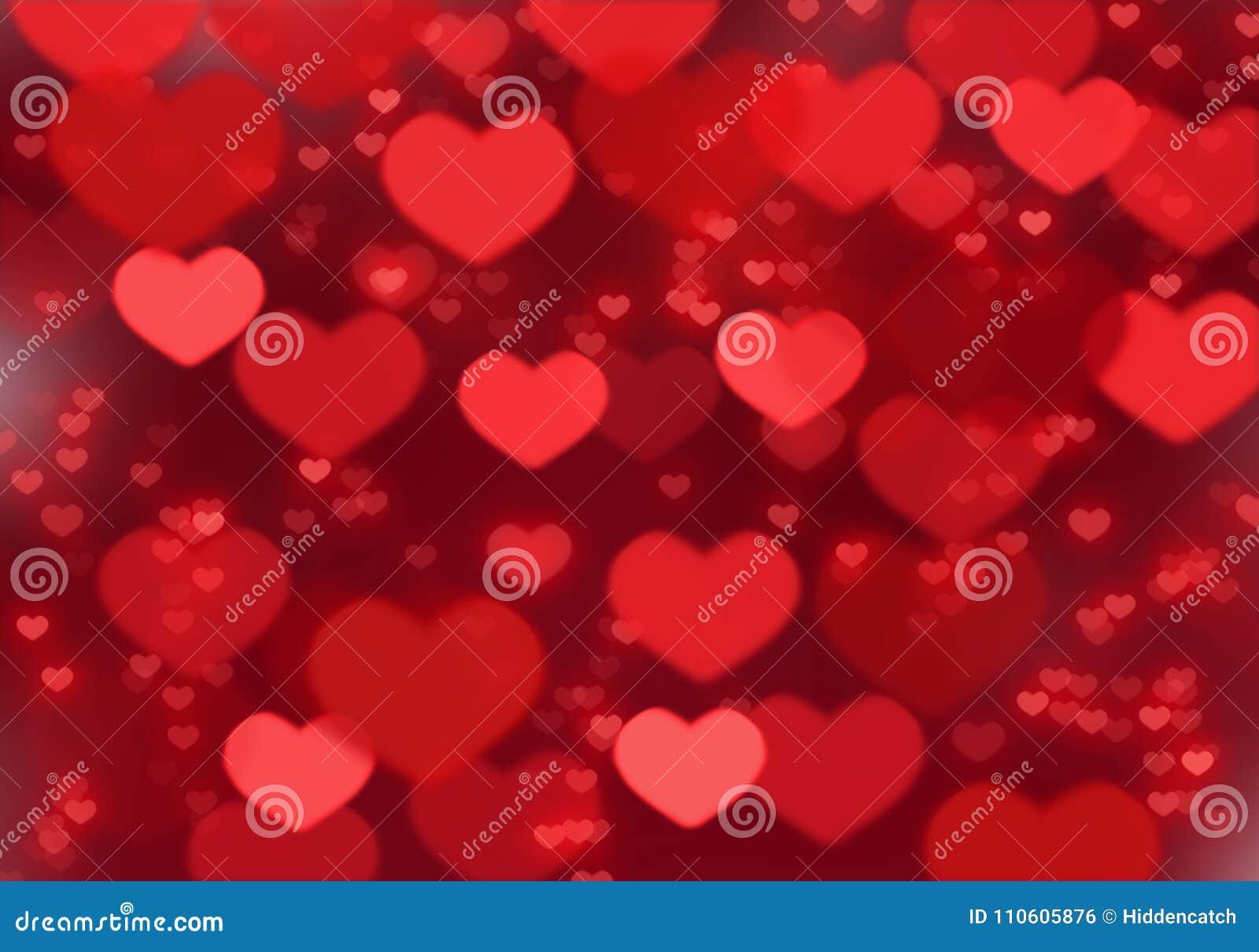 Fond rouge de coeur ; Fond de jour du ` s de Valentine