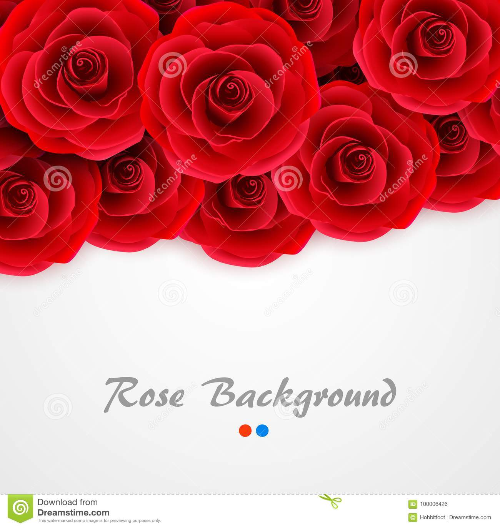 Fond Rouge De Roses Couverture De Rose Pour Epouser L Invitation La