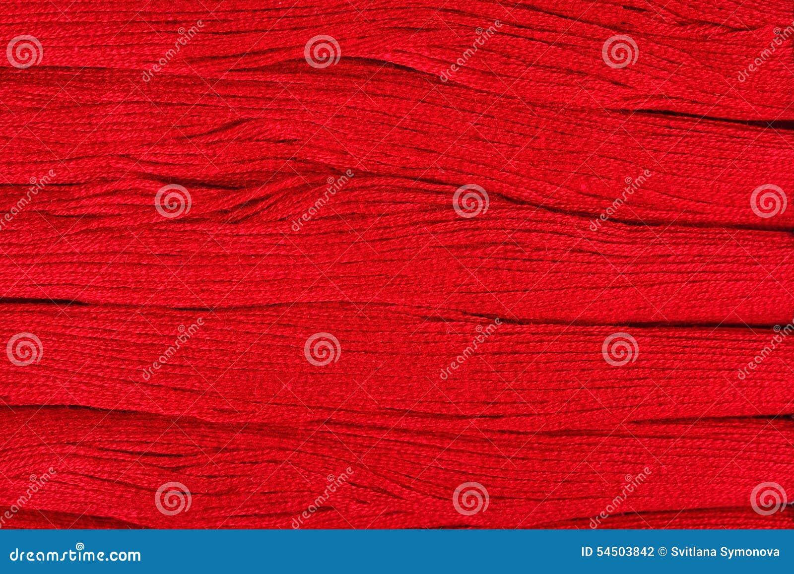 Fond rouge de soie de broderie