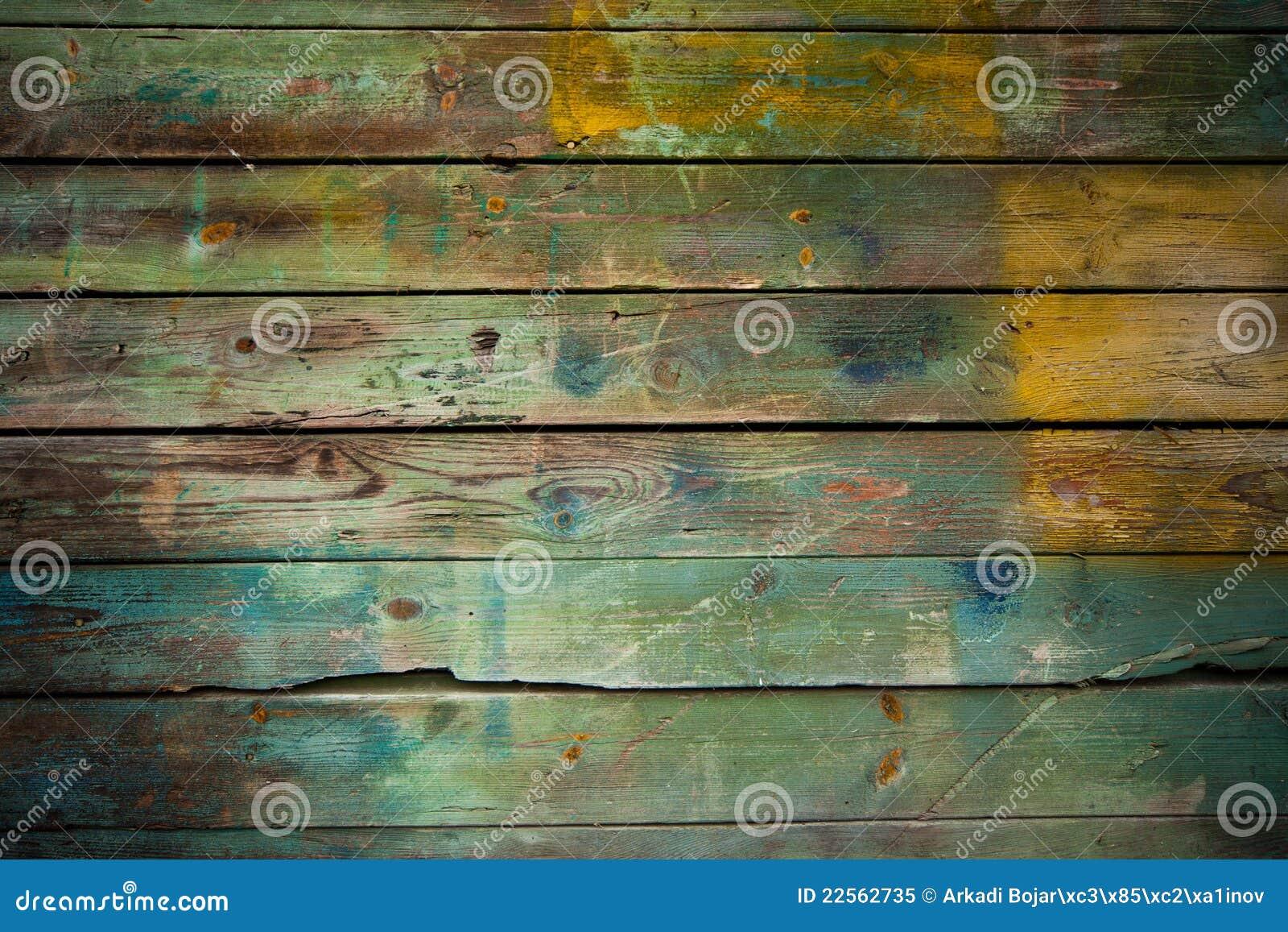 Fond sale en bois