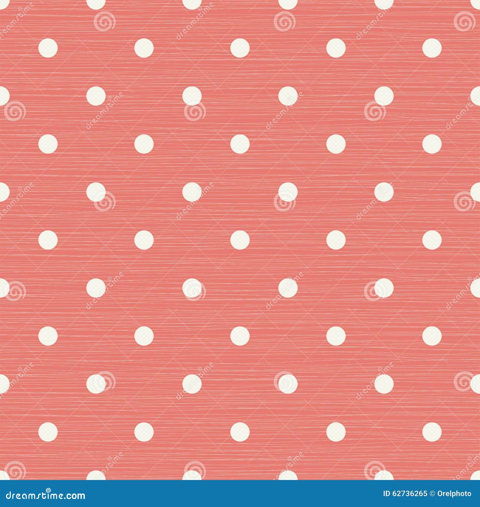 Fond sans couture avec des lignes et des points de polka