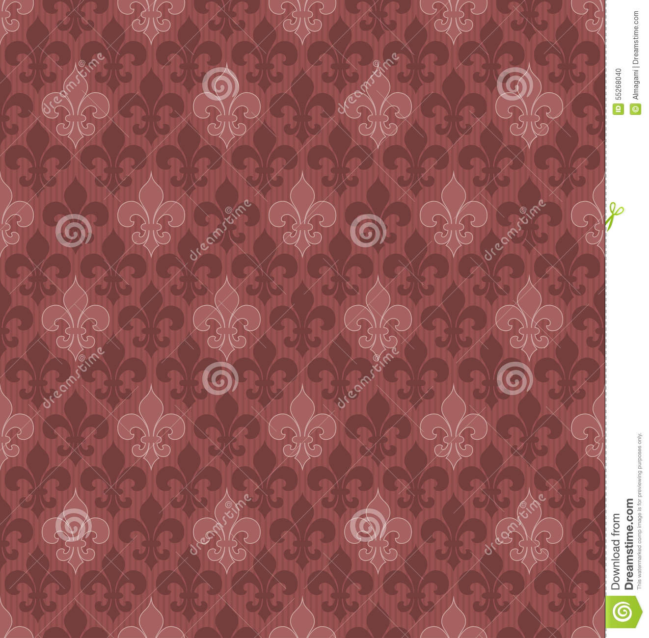 fond sans couture de fleur de lis de couleur de vin de marsala illustration de vecteur. Black Bedroom Furniture Sets. Home Design Ideas