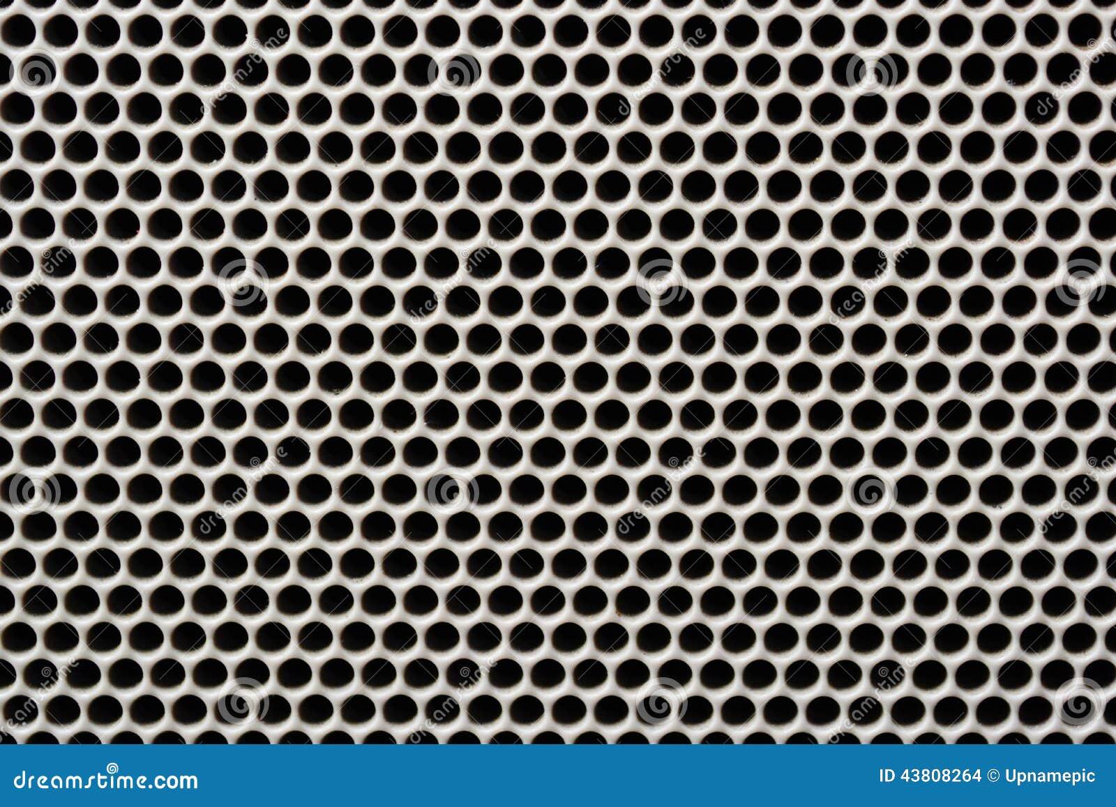 fond sans couture de grille de haut parleur de fer de texture photo stock image 43808264. Black Bedroom Furniture Sets. Home Design Ideas