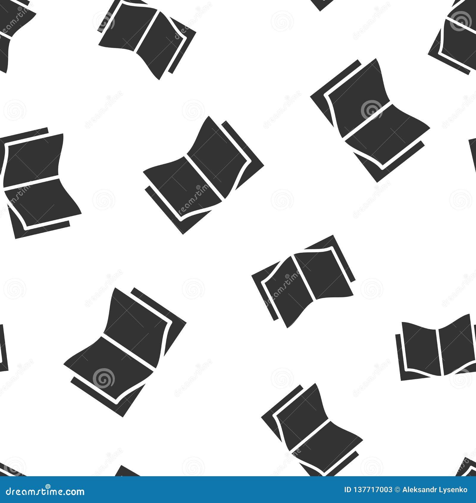 Fond Sans Couture De Modele D Icone D Education De Livre