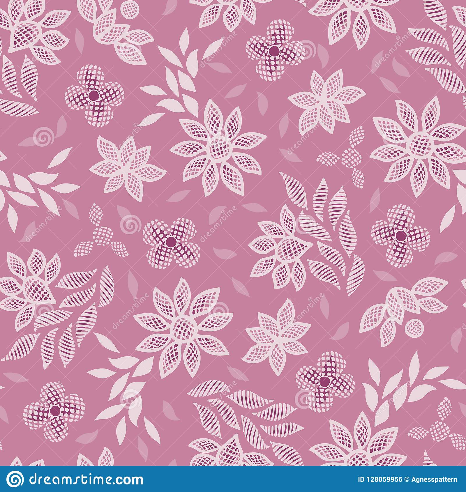 Fond Sans Couture De Modele De Vecteur De Broderie Florale Rose De Dentelle Illustration De Vecteur Illustration Du Couture Dentelle 128059956
