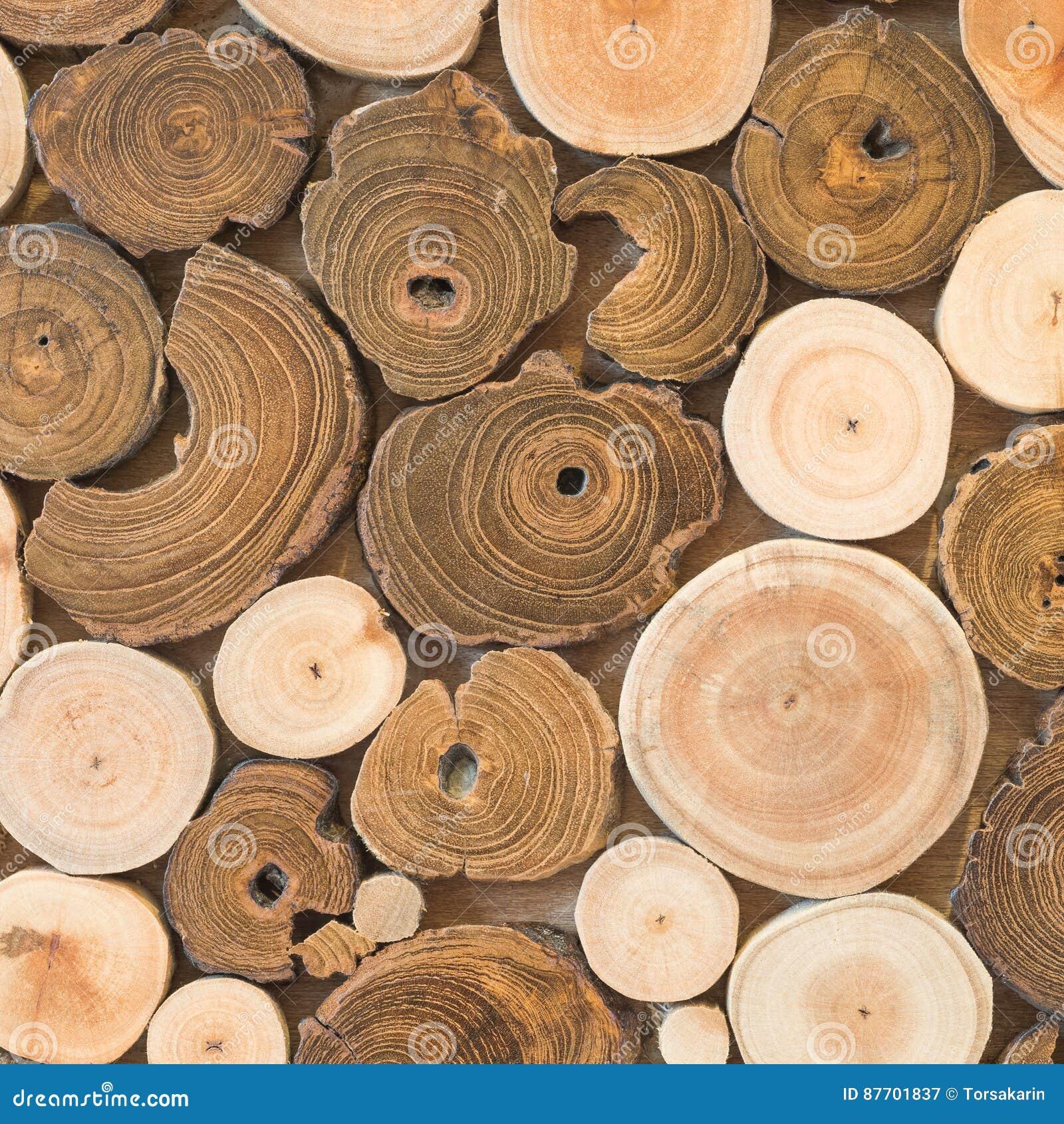 Fond sans couture de mur en bois