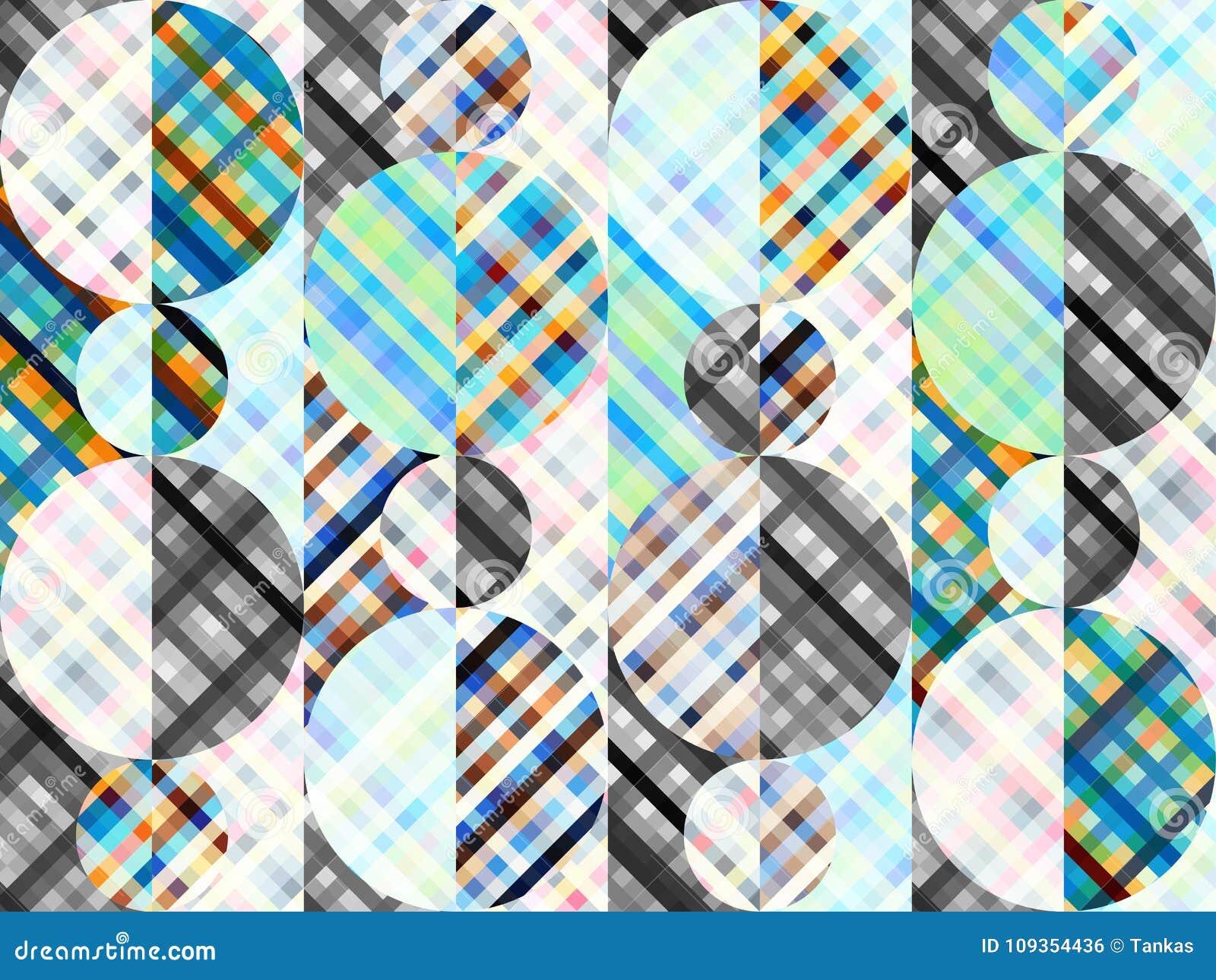 Fond sans couture Modèle diagonal abstrait géométrique dans le bas poly style d art de pixel