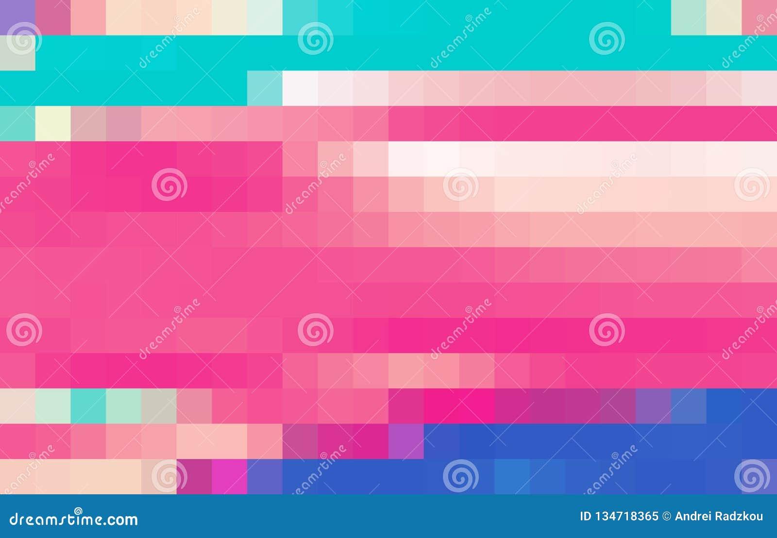 Fond Simple Avec La Mosaïque De Pixel De Couleur Dessins De