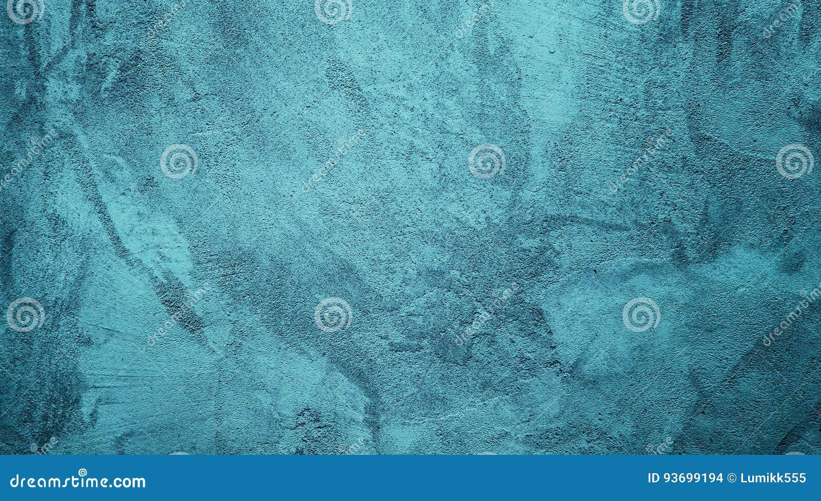 Fond solide décoratif grunge abstrait de turquoise