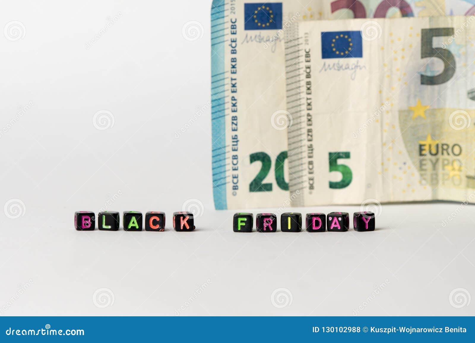 Fond symbolique de Black Friday
