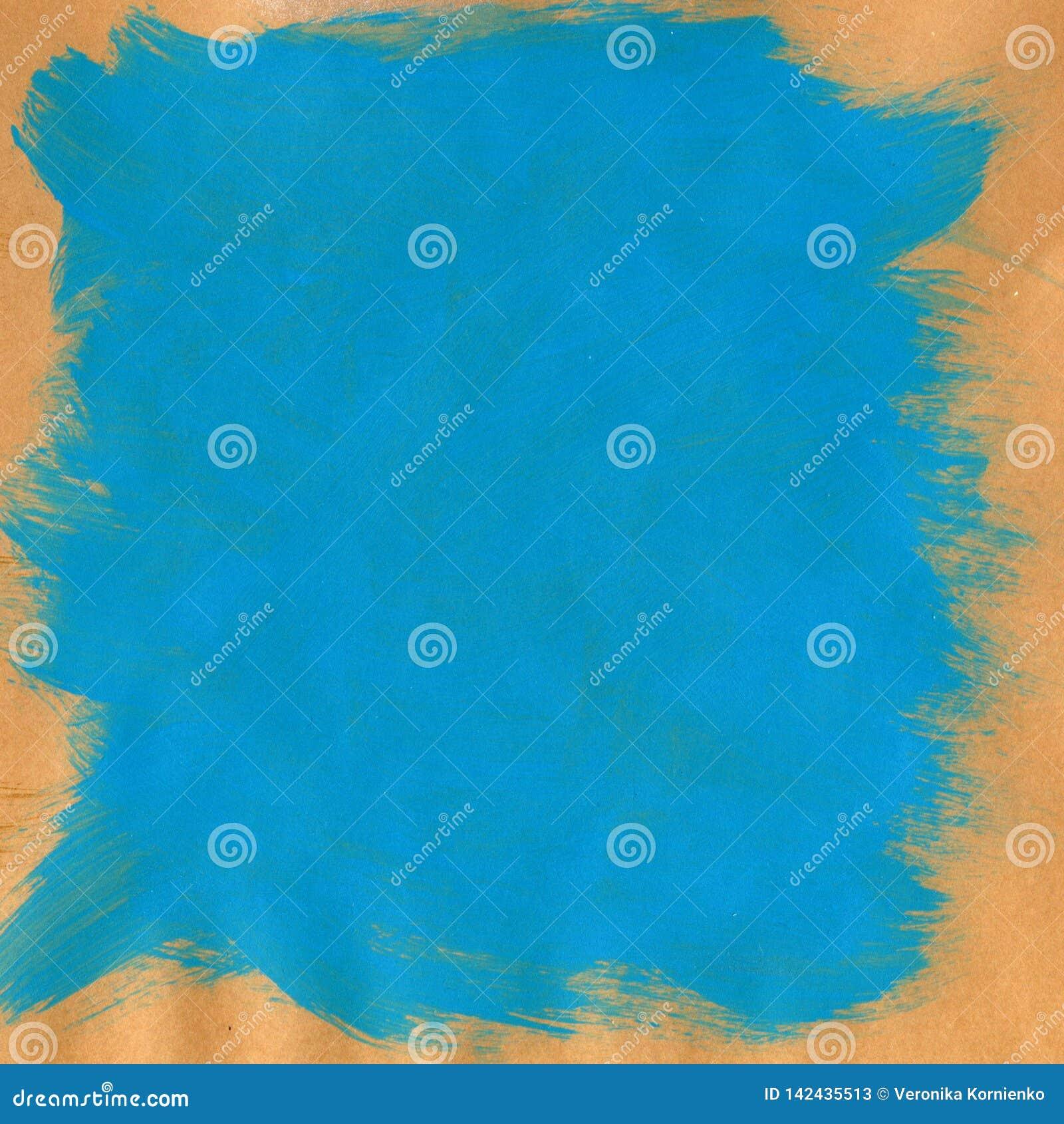 Fond texturis? bleu peint ? la main