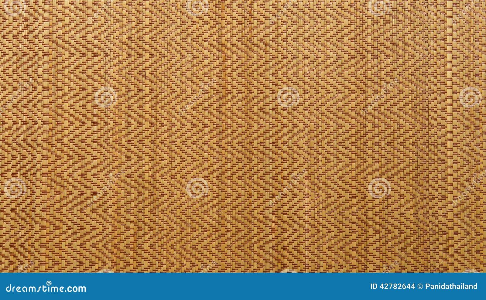fond tiss asiatique de texture de tapis en bois ou de rotin photo stock image 42782644. Black Bedroom Furniture Sets. Home Design Ideas