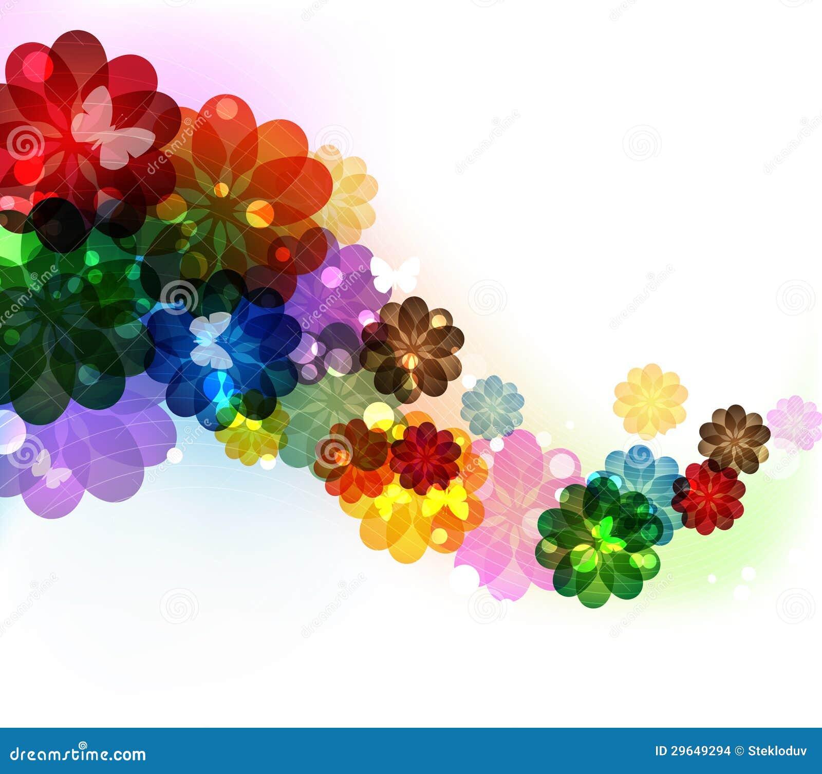 Fond Transparent De Fleur Images Stock Image 29649294