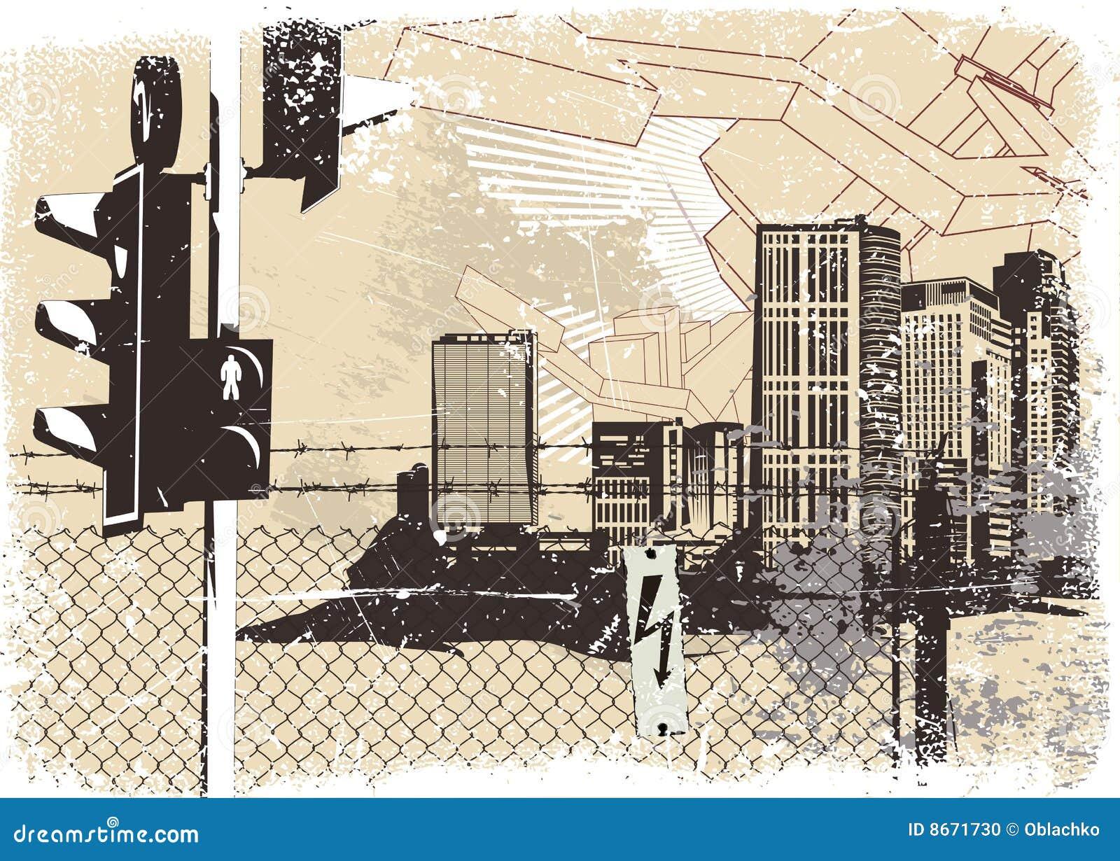 Fond urbain