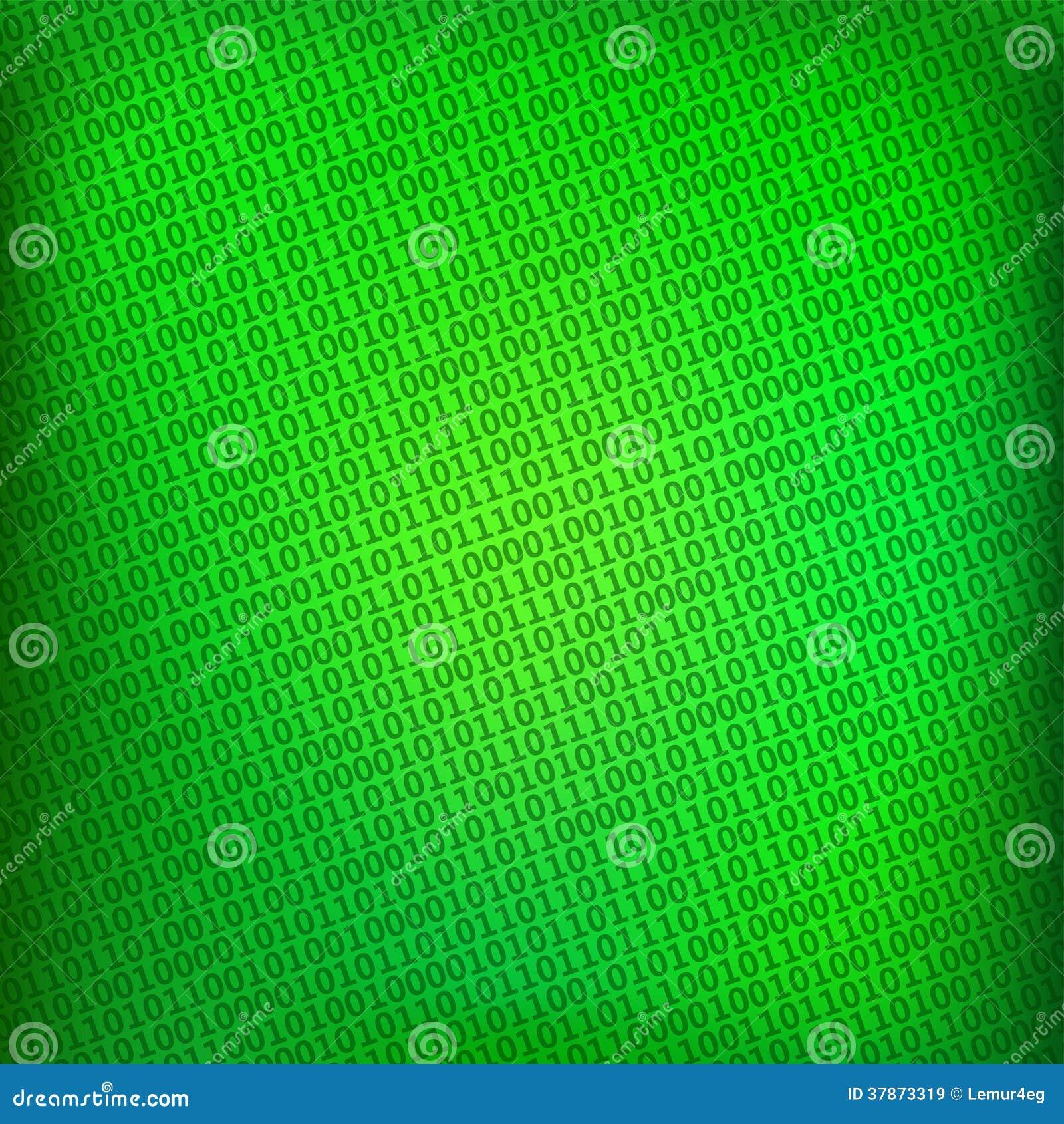 fond vert avec la matrice binaire num rique images libres de droits image 37873319. Black Bedroom Furniture Sets. Home Design Ideas