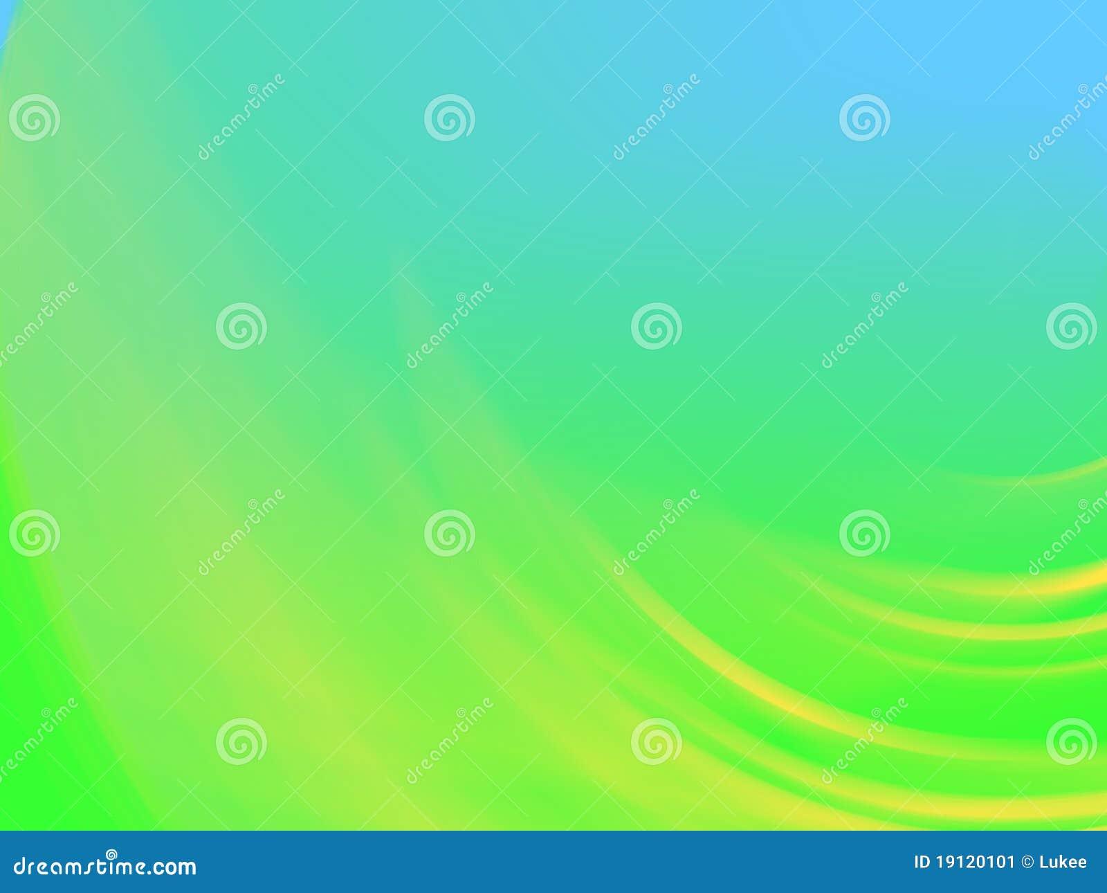 fond vert bleu avec le groupe jaune illustration stock illustration du conception courbe. Black Bedroom Furniture Sets. Home Design Ideas