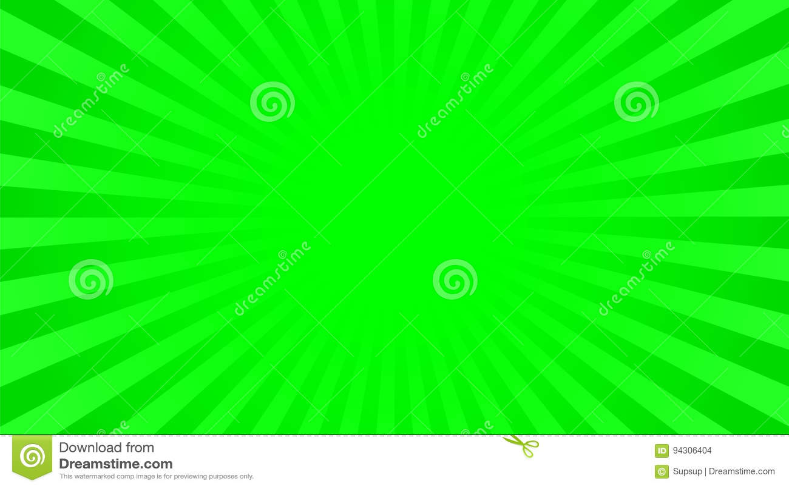 Fond Vert Clair fond vert clair de rayons illustration de vecteur. illustration du