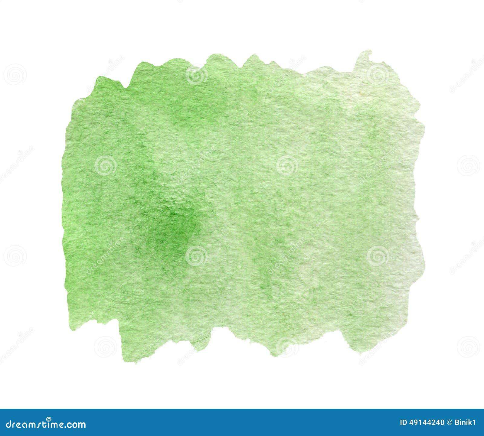 fond vert d 39 abr g sur aquarelle illustration stock image 49144240. Black Bedroom Furniture Sets. Home Design Ideas