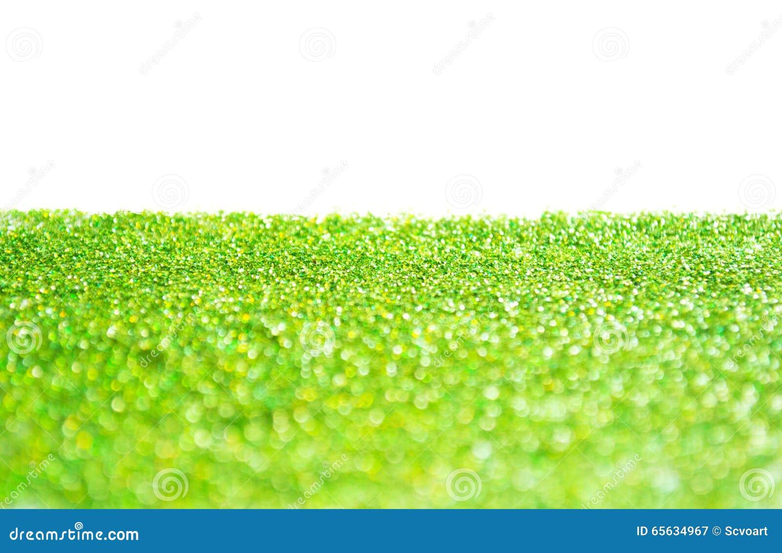 Fond vert de scintillement