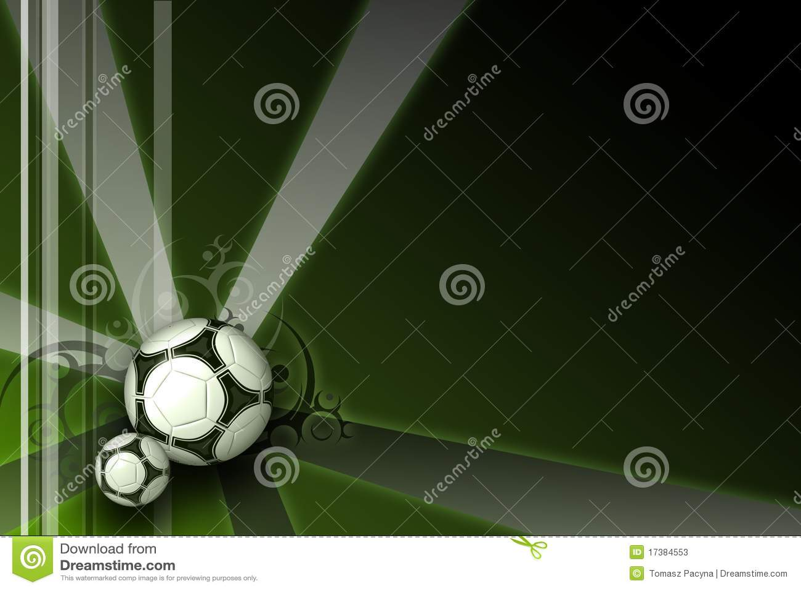 fond vert fonc d 39 l gance du football photos stock image 17384553. Black Bedroom Furniture Sets. Home Design Ideas