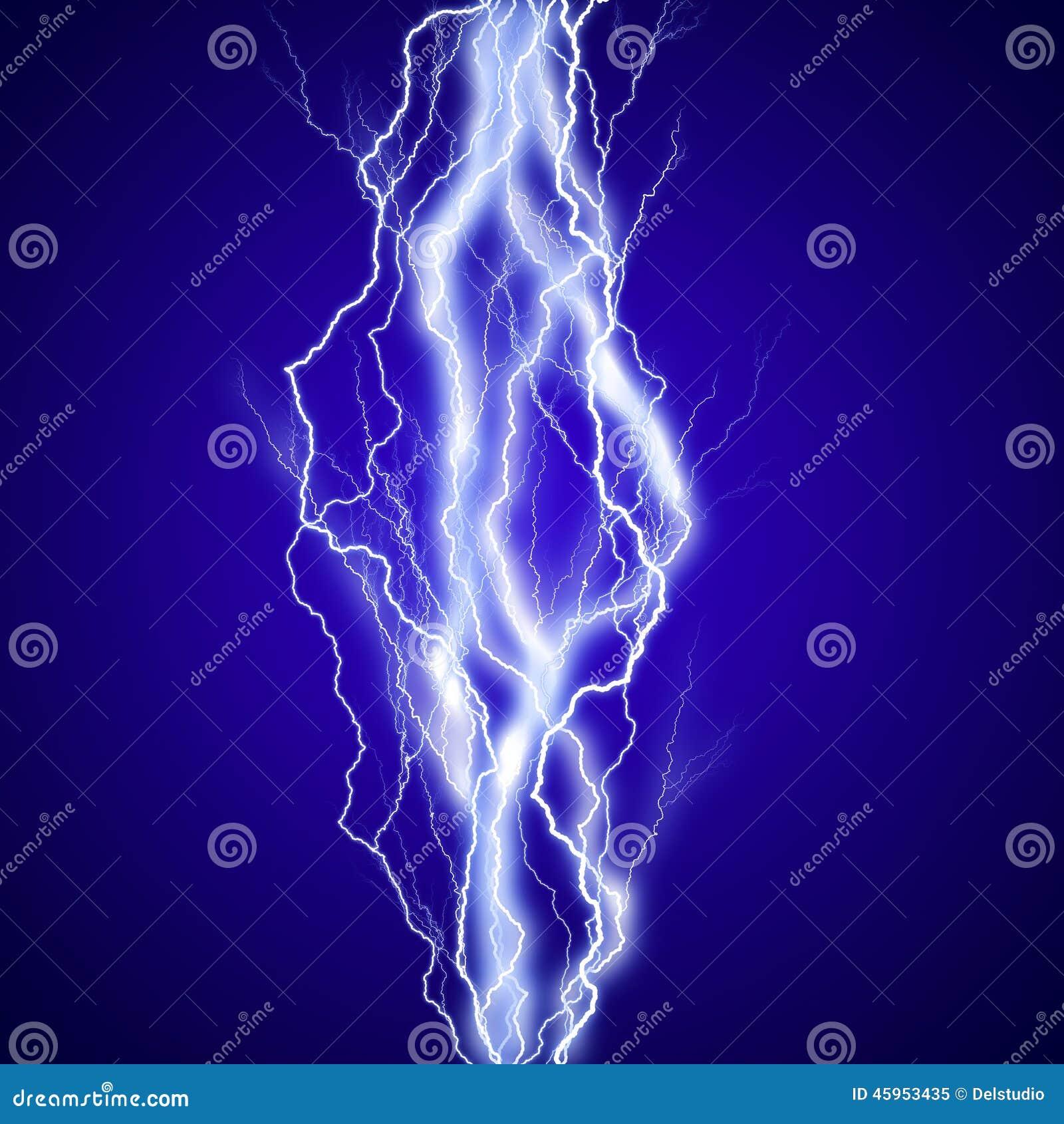 Fond vertical d effet de lightenings