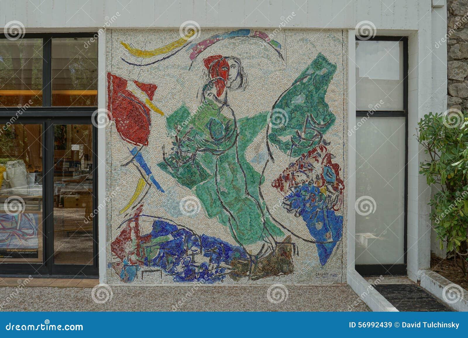 Fondation maeght saint paul de vence france editorial for Chagall st paul de vence