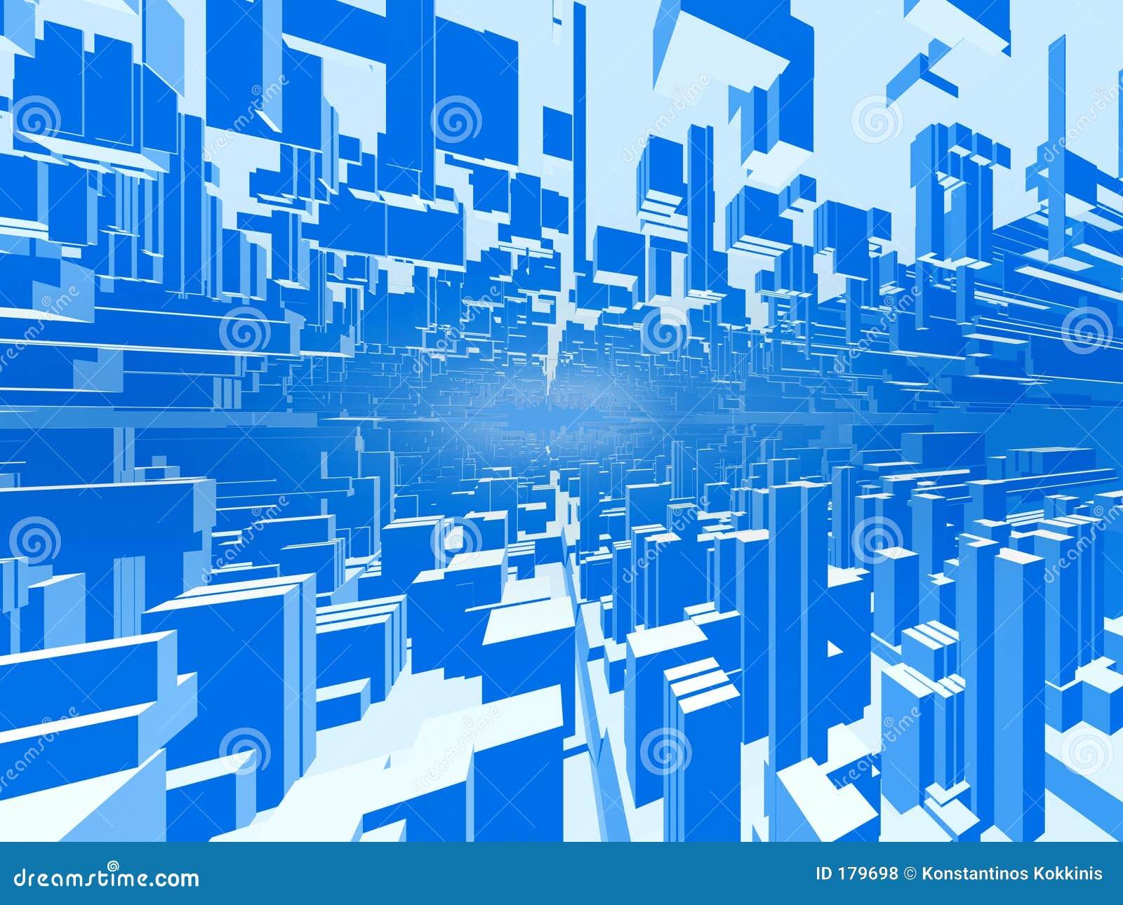 Fondo abstracto #2 de la ciudad