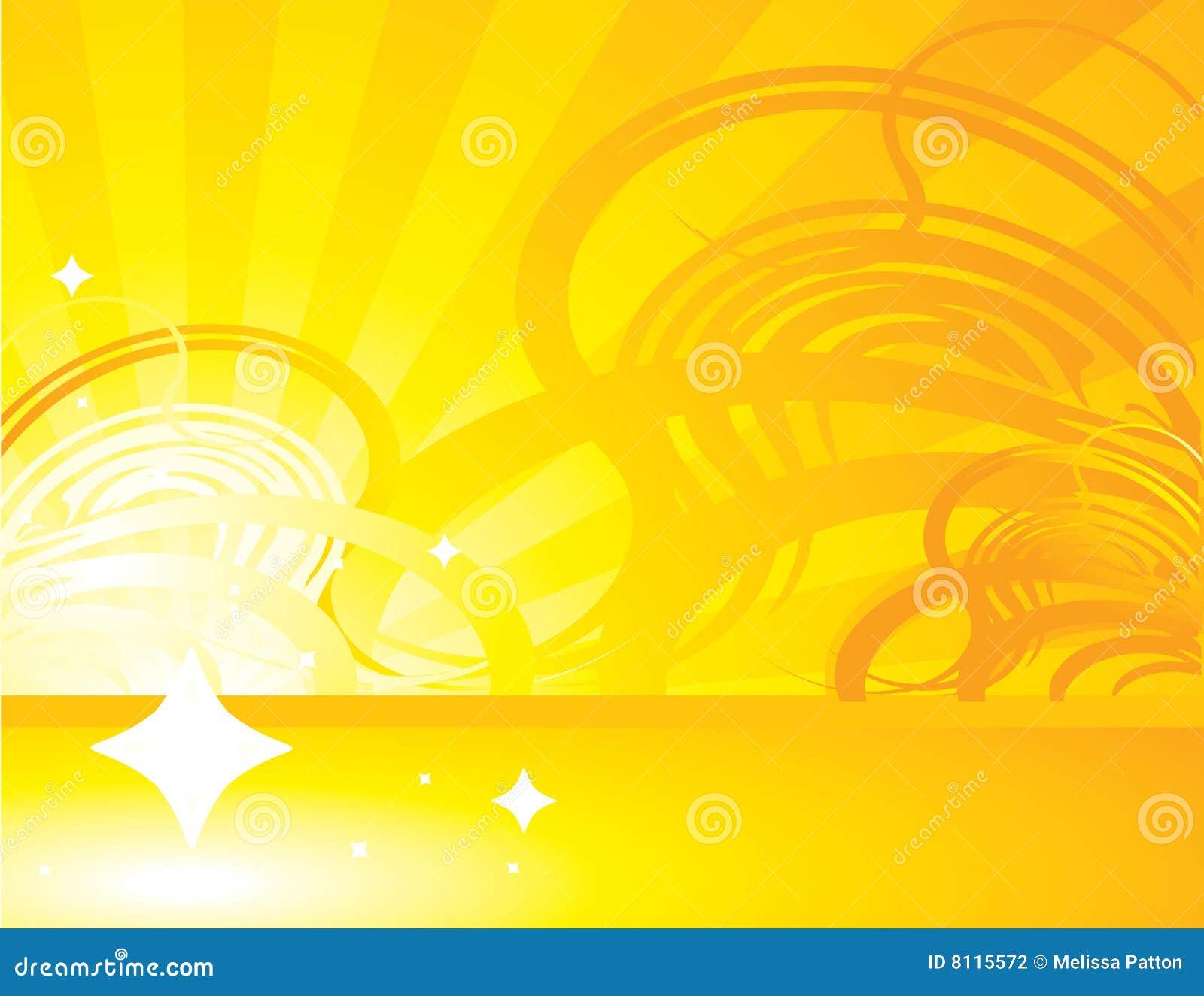 Fondo abstracto amarillo naranja 1 del rayo fotograf a de - Amarillo naranja ...