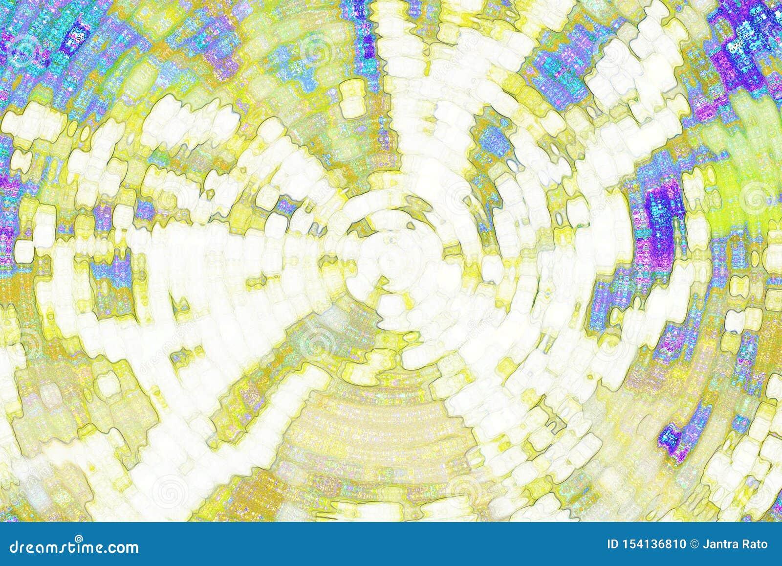 Fondo abstracto, amarillo abstracto y fondo azul