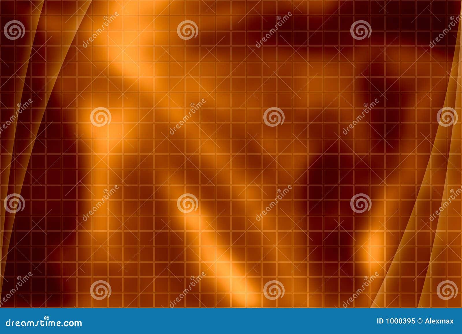 Fondo abstracto anaranjado