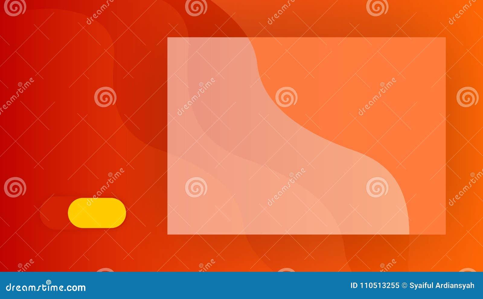 fondo abstracto anaranjado para powerpoint