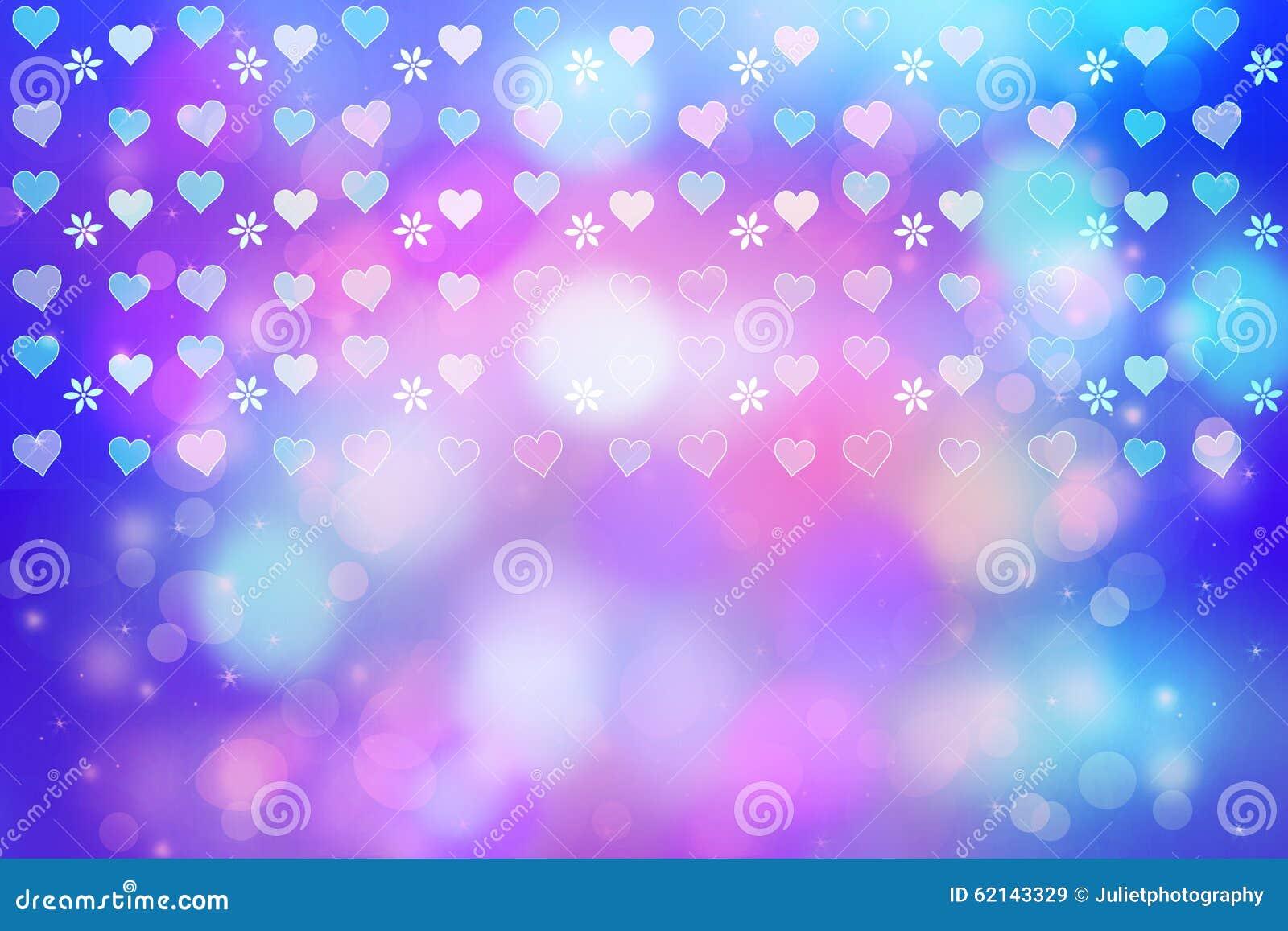 Fondo abstracto art stico con los corazones bonitos stock for Imagenes de fondos bonitos