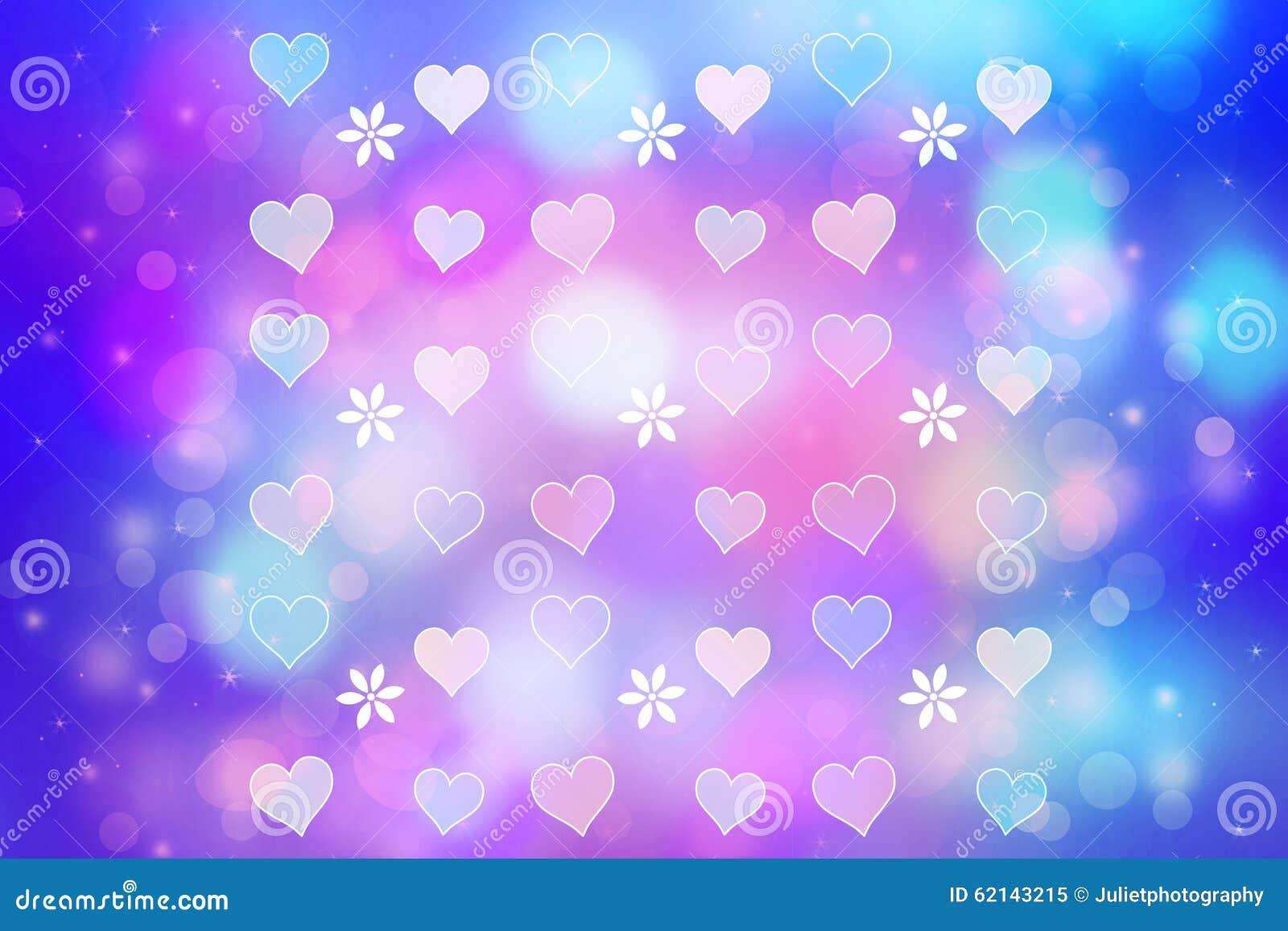 Fondo abstracto art stico con los corazones bonitos stock for Fotos de garajes bonitos