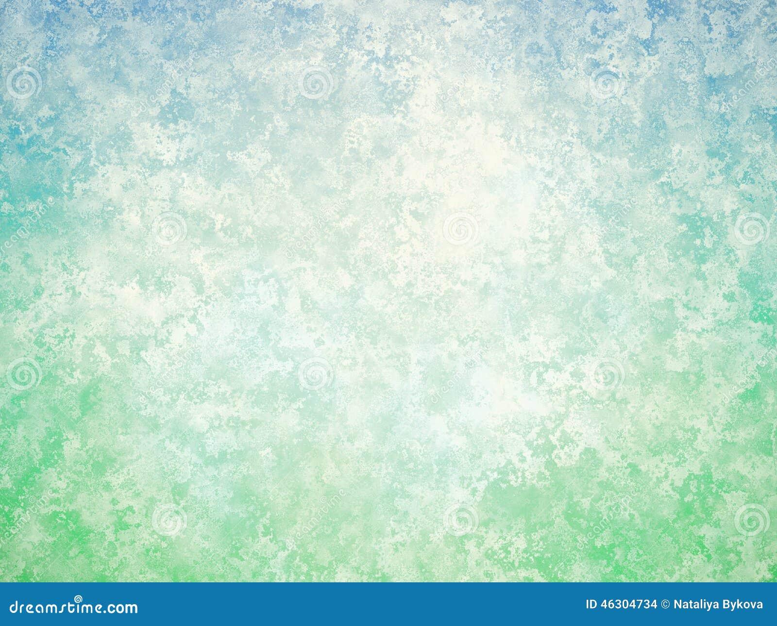 Fondo Abstracto Blanco Del Vintage Del Verde Azul Stock de