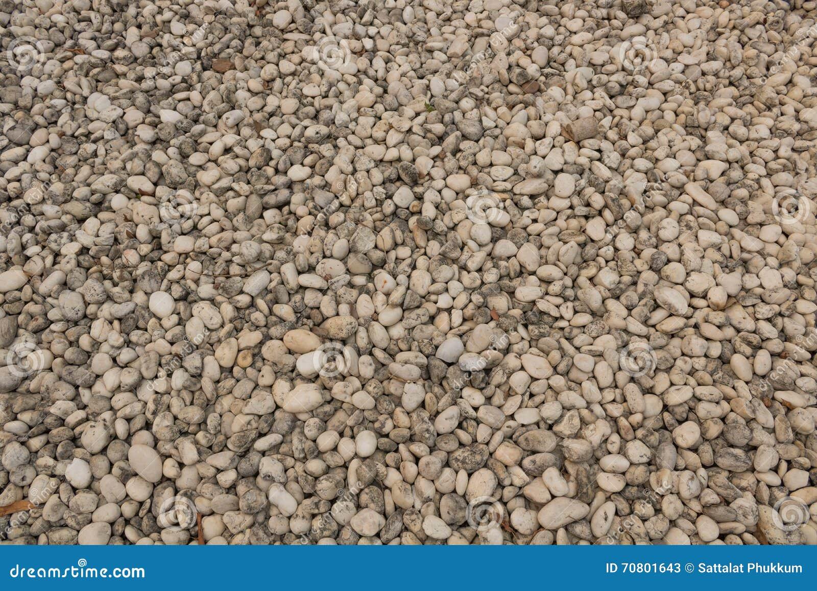 Fondo abstracto con las piedras reeble redondas secas
