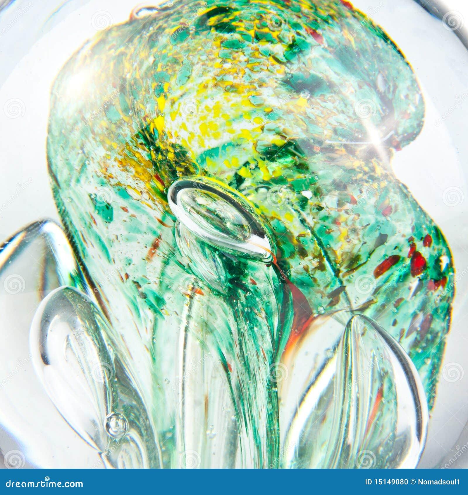 Fondo abstracto de cristal líquido
