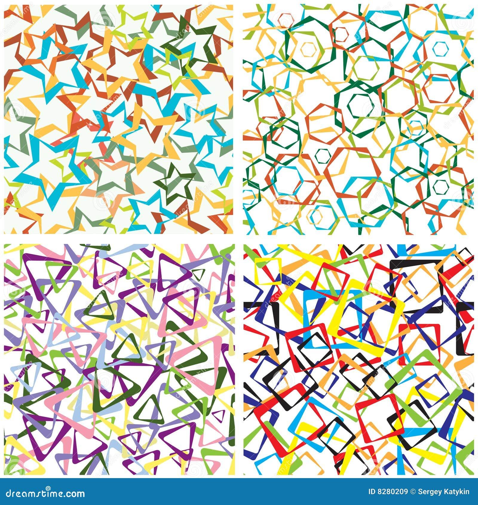 Abstractos figuras geometricas cuadros recuerdo abstracto for Cuadros con formas geometricas