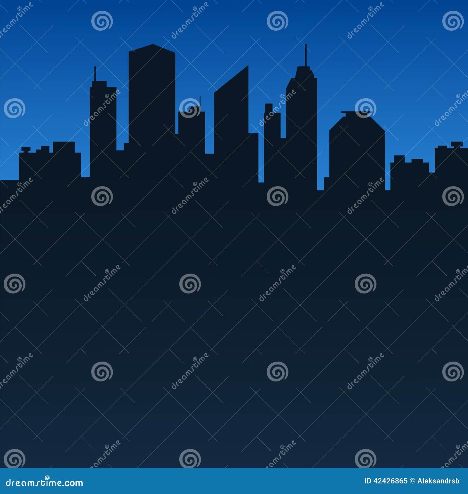 Fondo abstracto de la ciudad