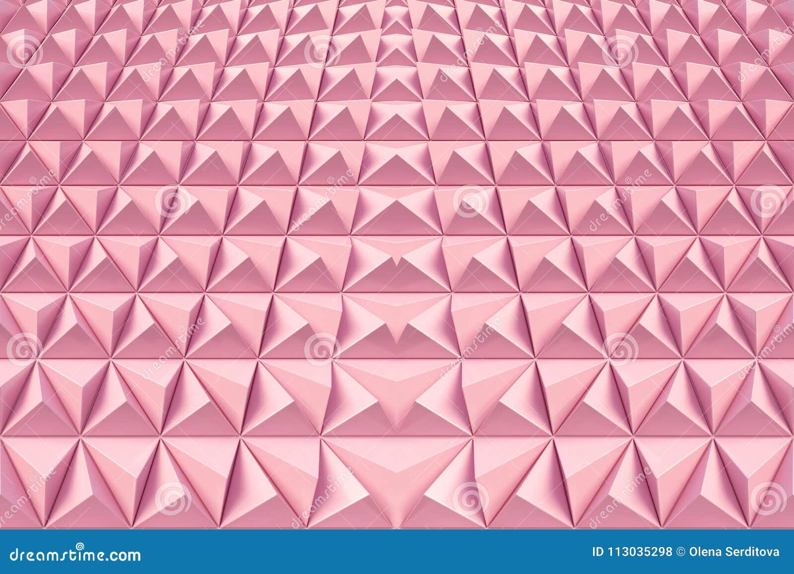 Fondo abstracto de la forma poligonal