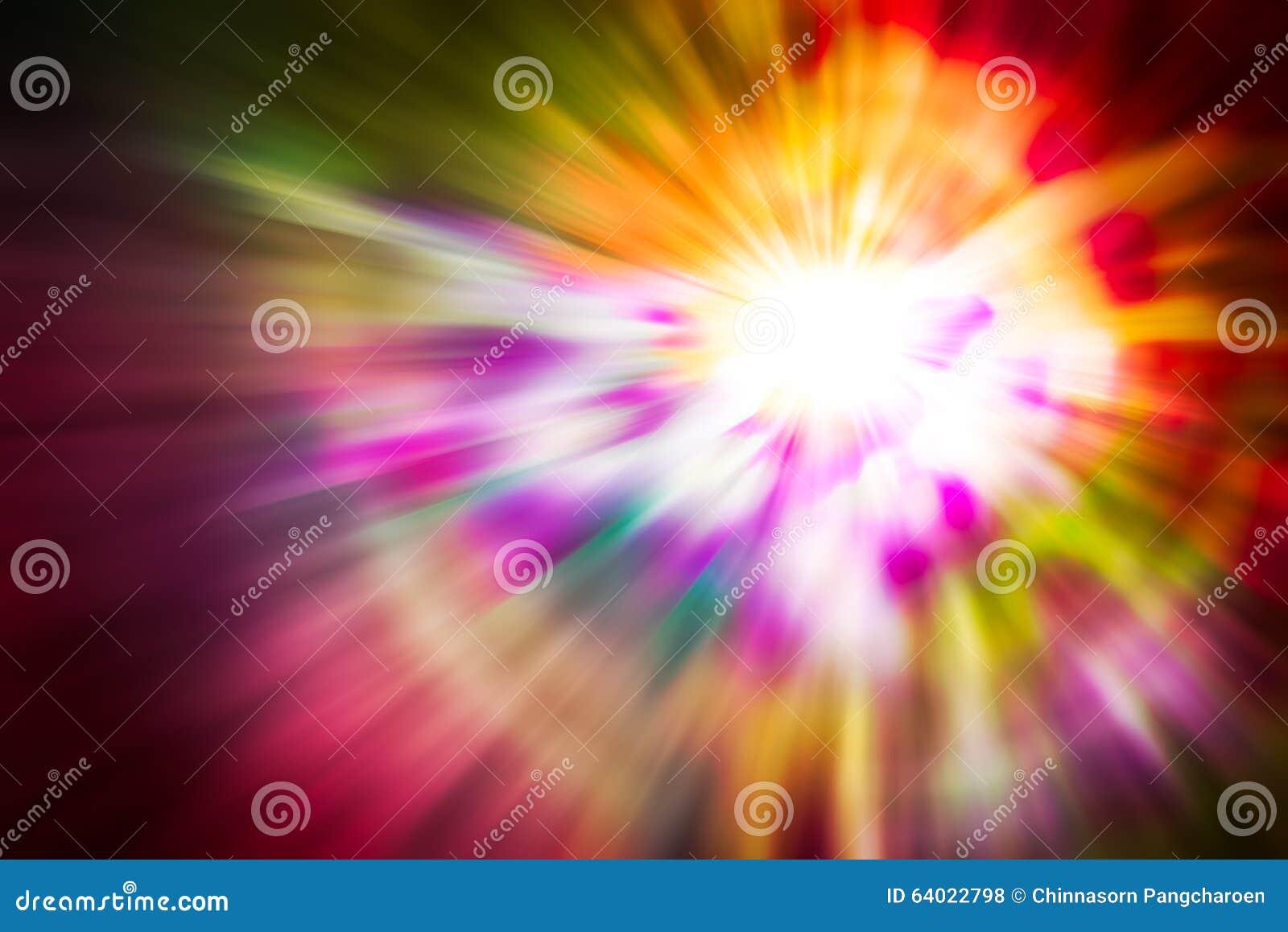 Fondo abstracto de la luz del movimiento