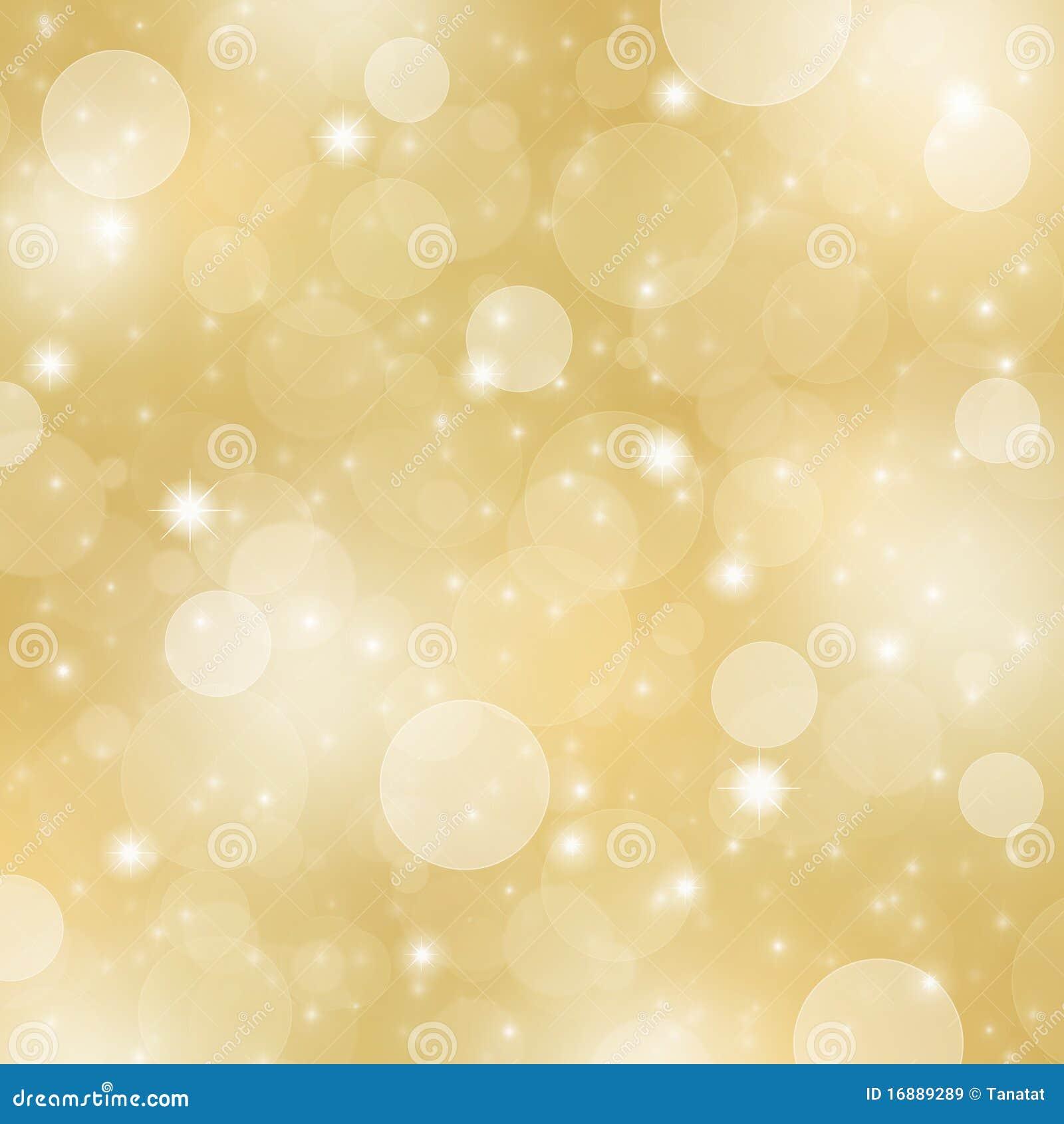 Fondo abstracto de la Navidad del oro