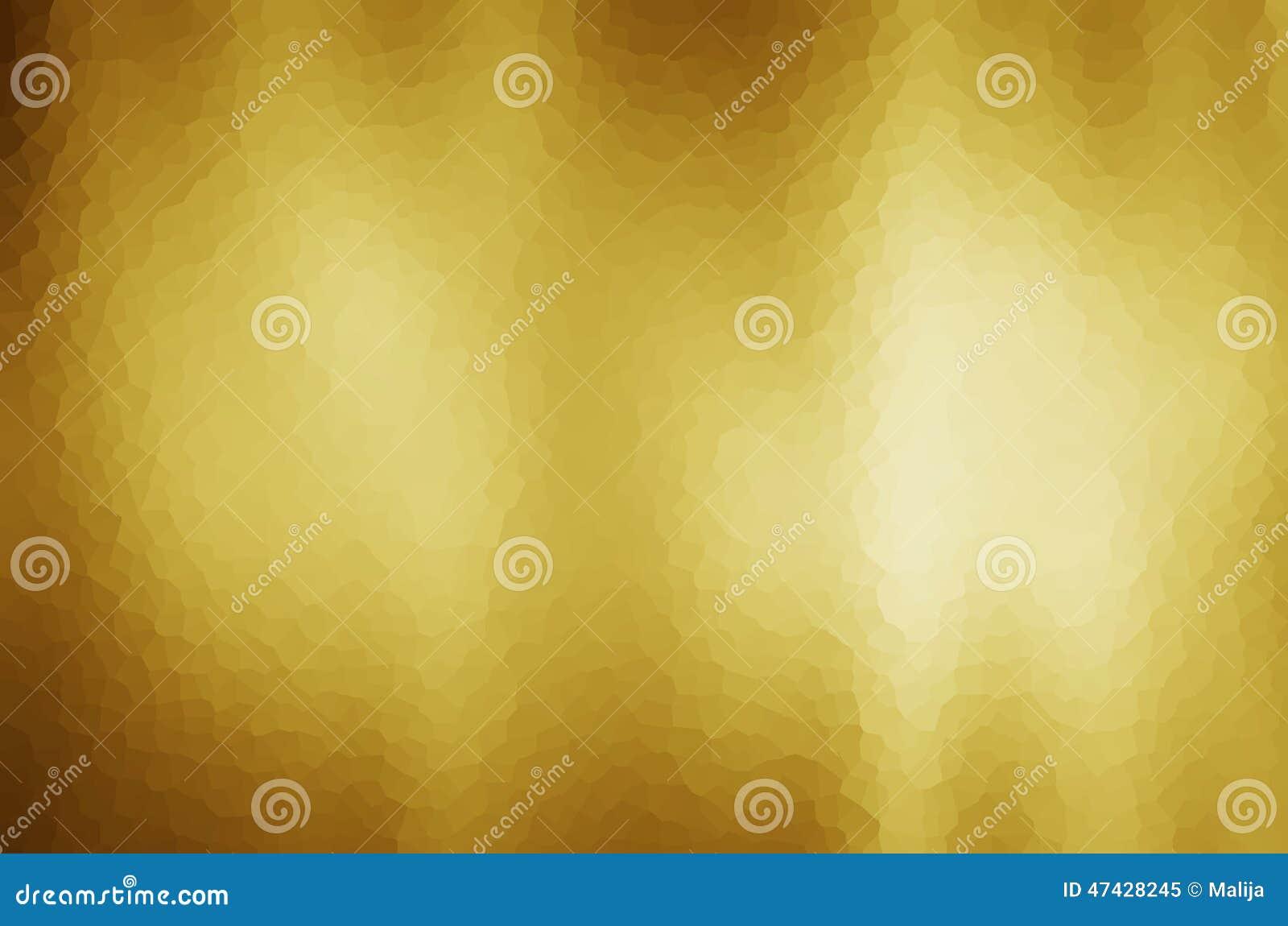 Fondo abstracto de la pendiente del oro