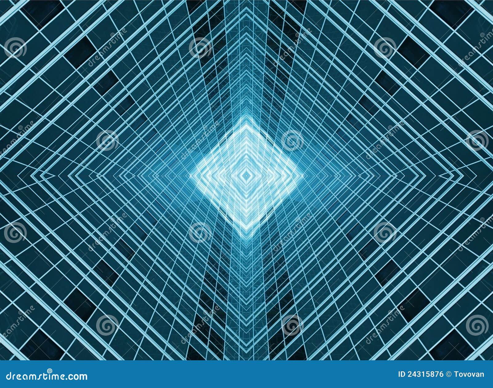 Fondo abstracto de las ventanas de cristal
