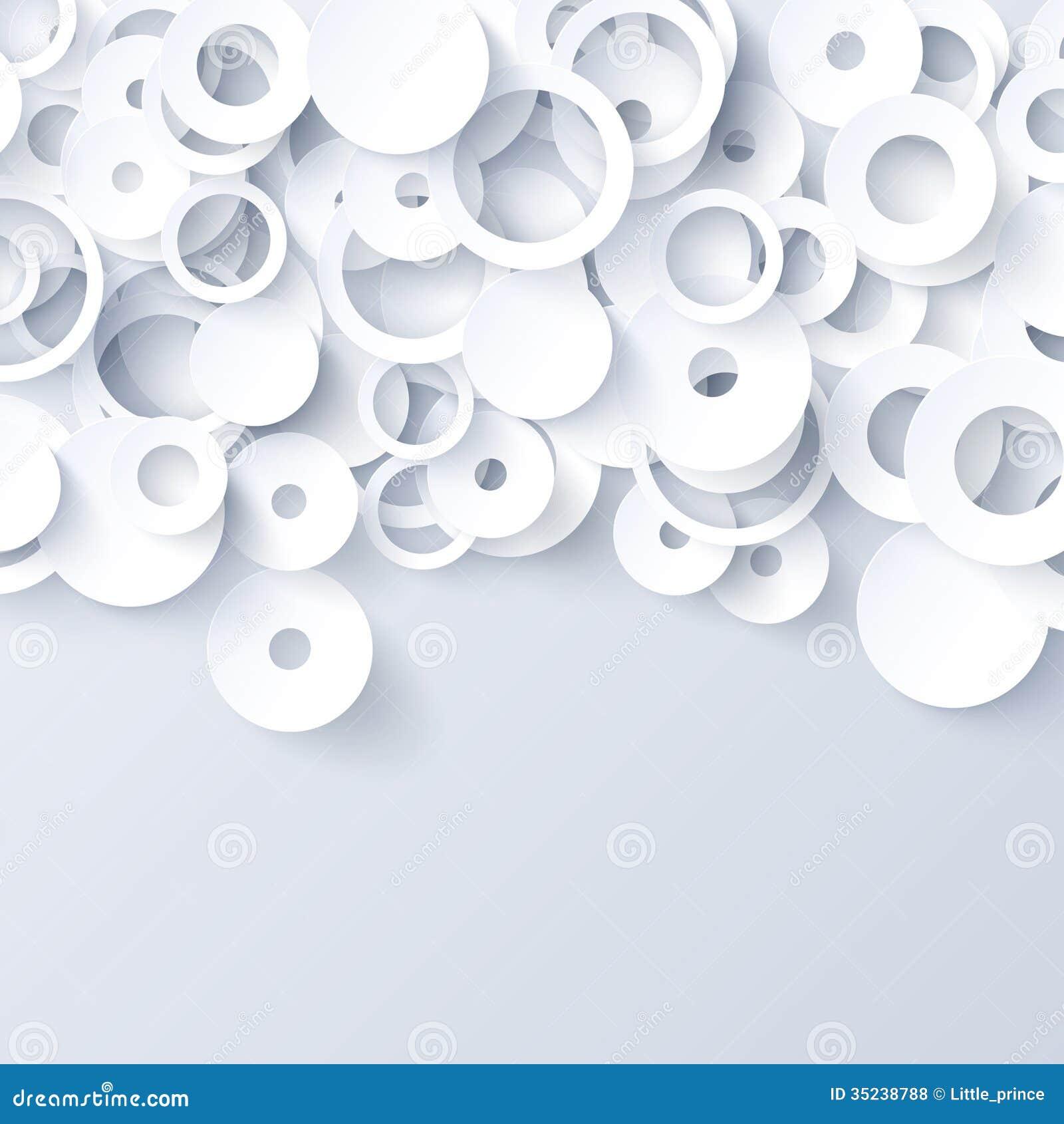 Fondo abstracto de papel blanco y gris