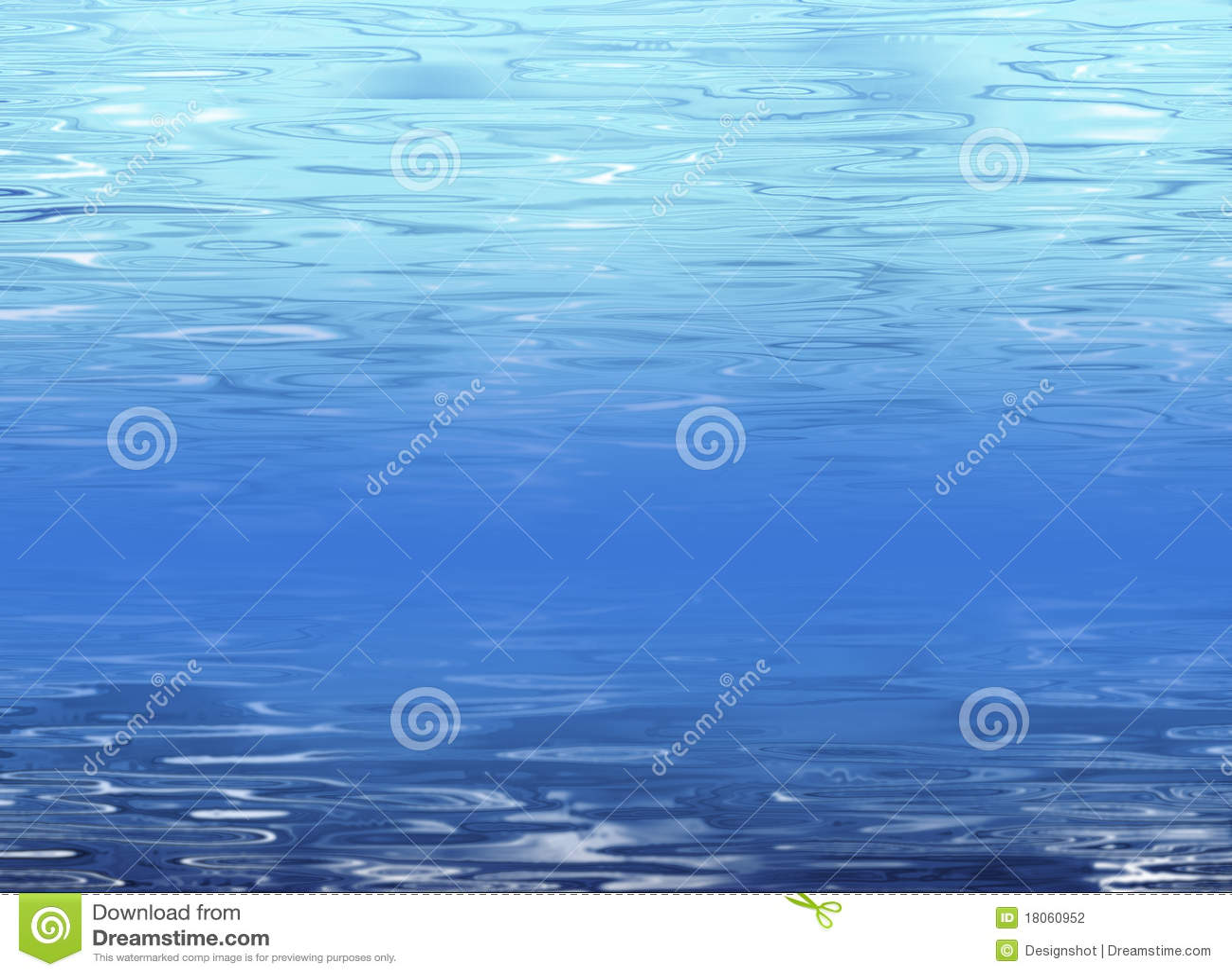 Fondo abstracto del agua azul