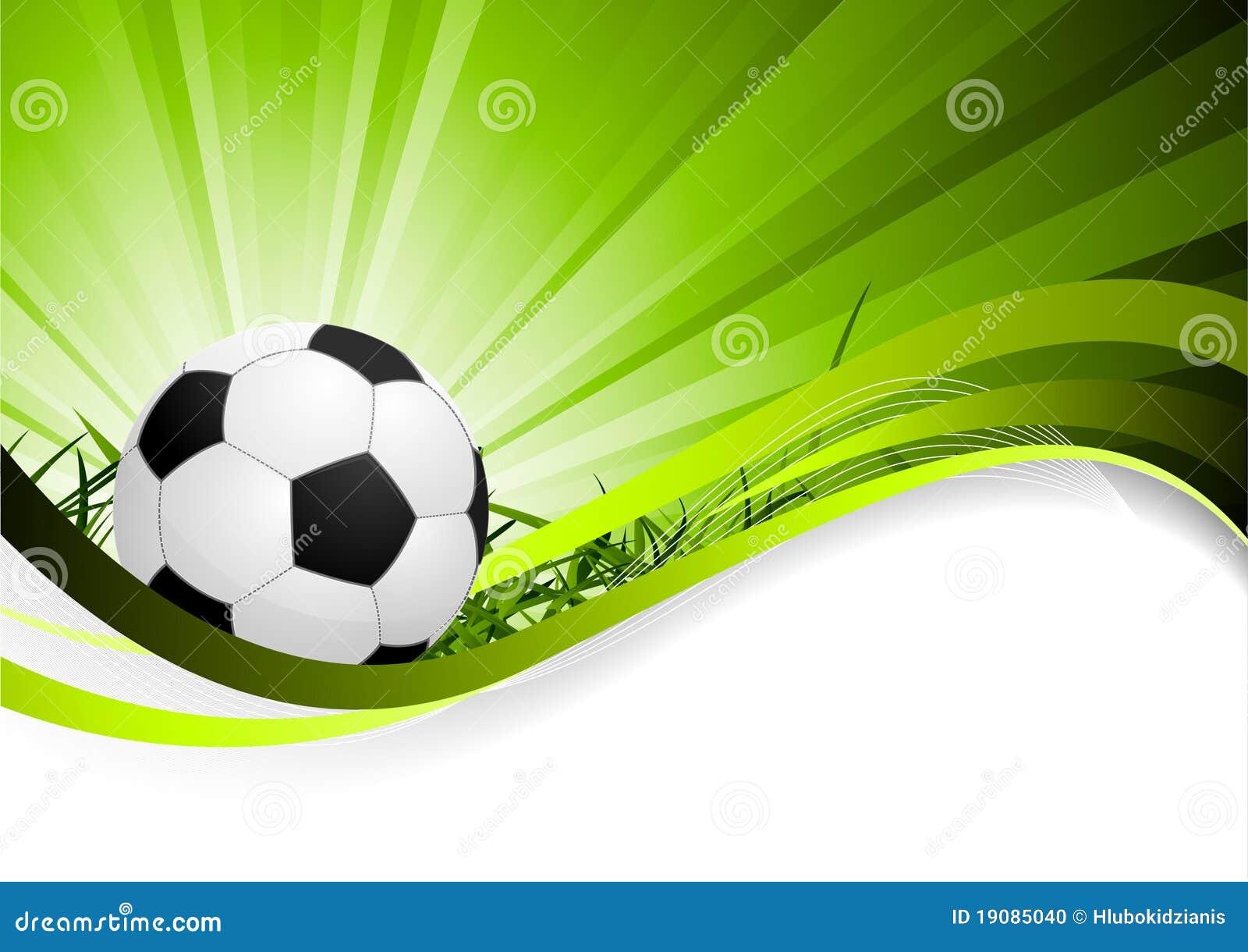 Fondo abstracto del f tbol ilustraci n del vector for Fondos de futbol