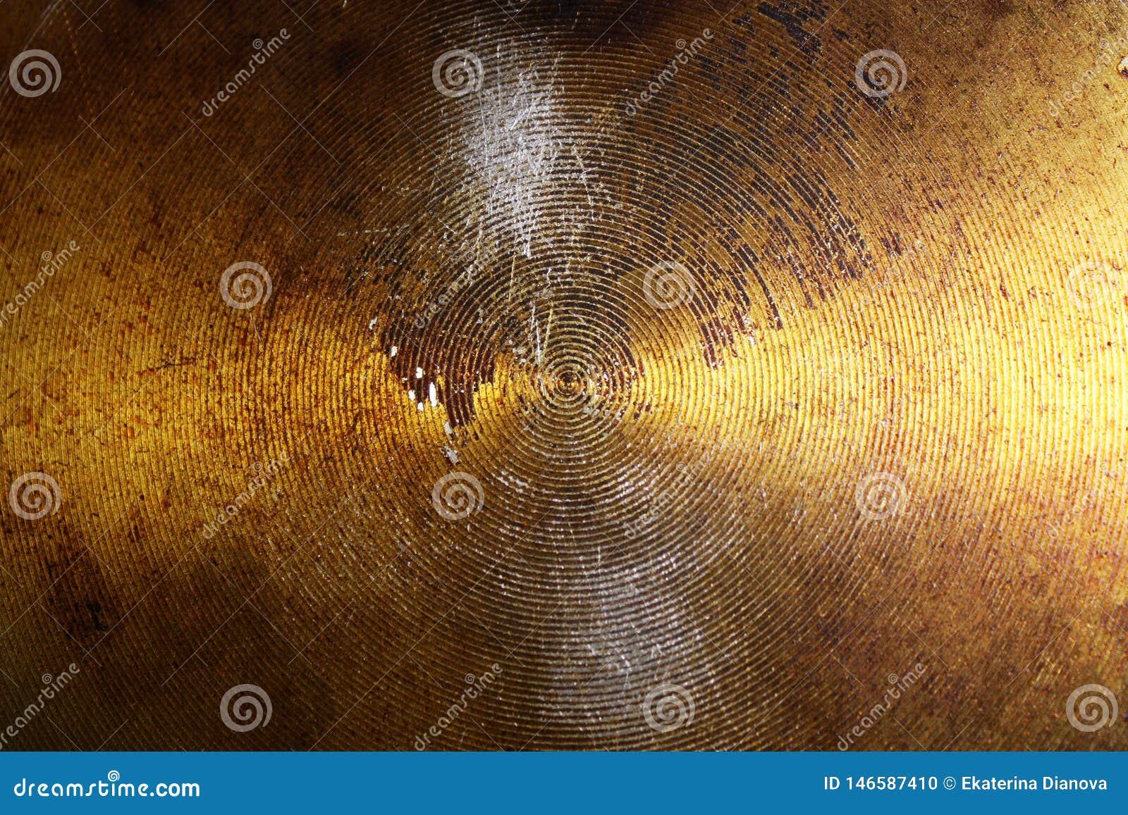 Fondo abstracto del metal con los c?rculos