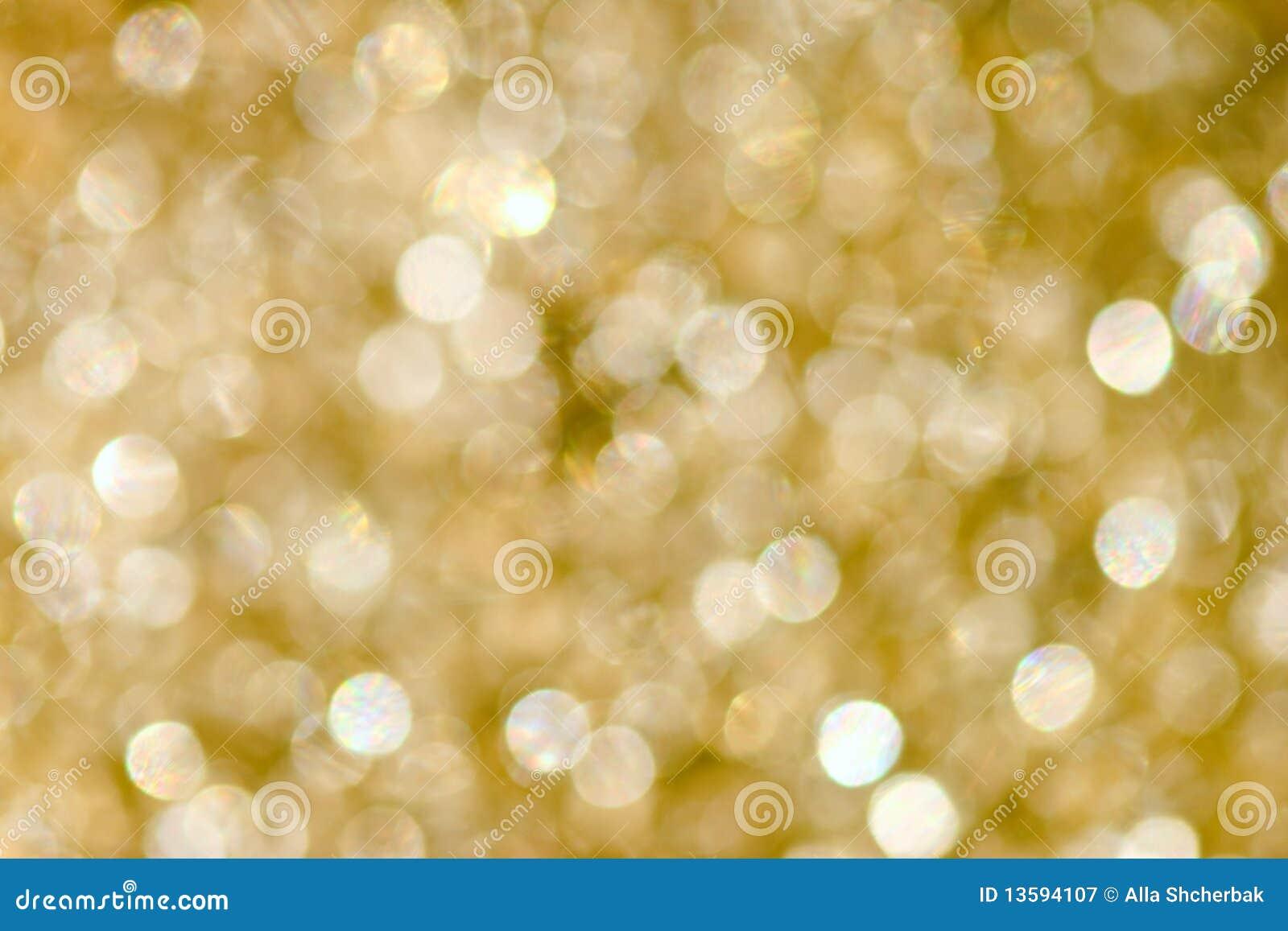 Fondo abstracto del oro