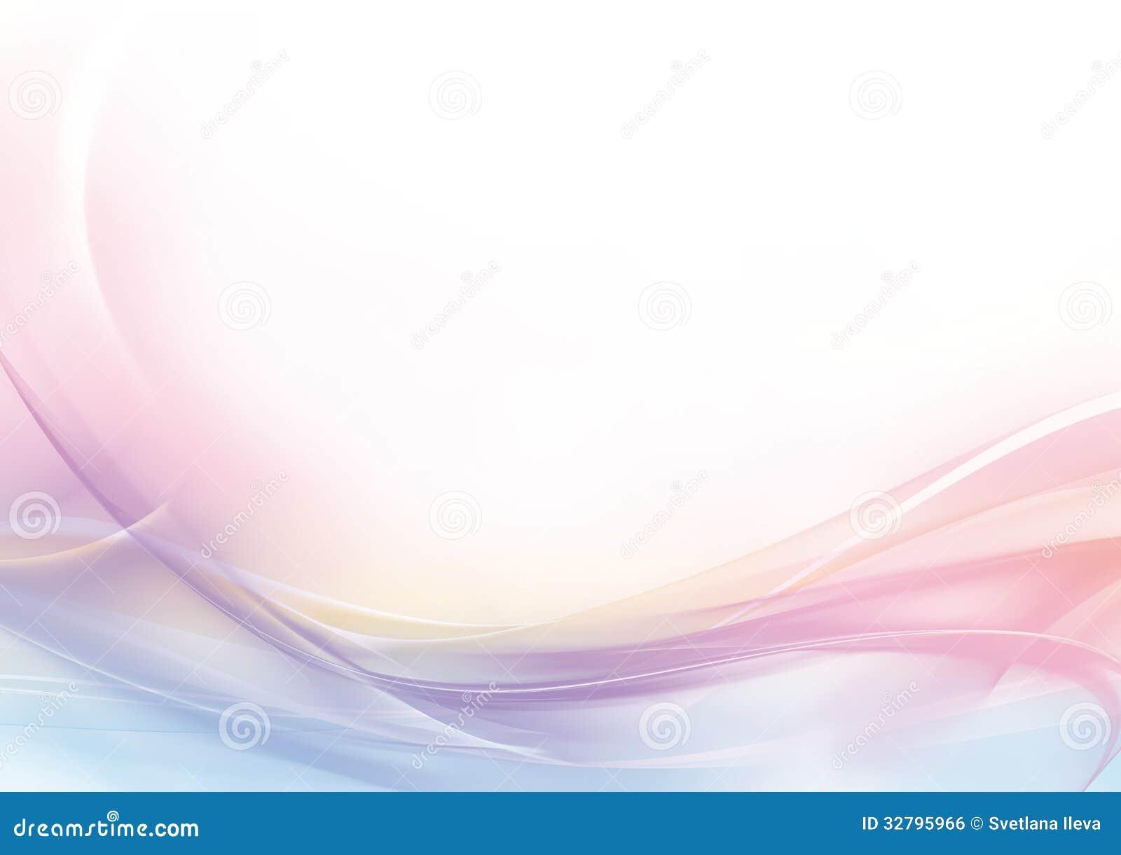 Fondo abstracto del rosa en colores pastel y del blanco